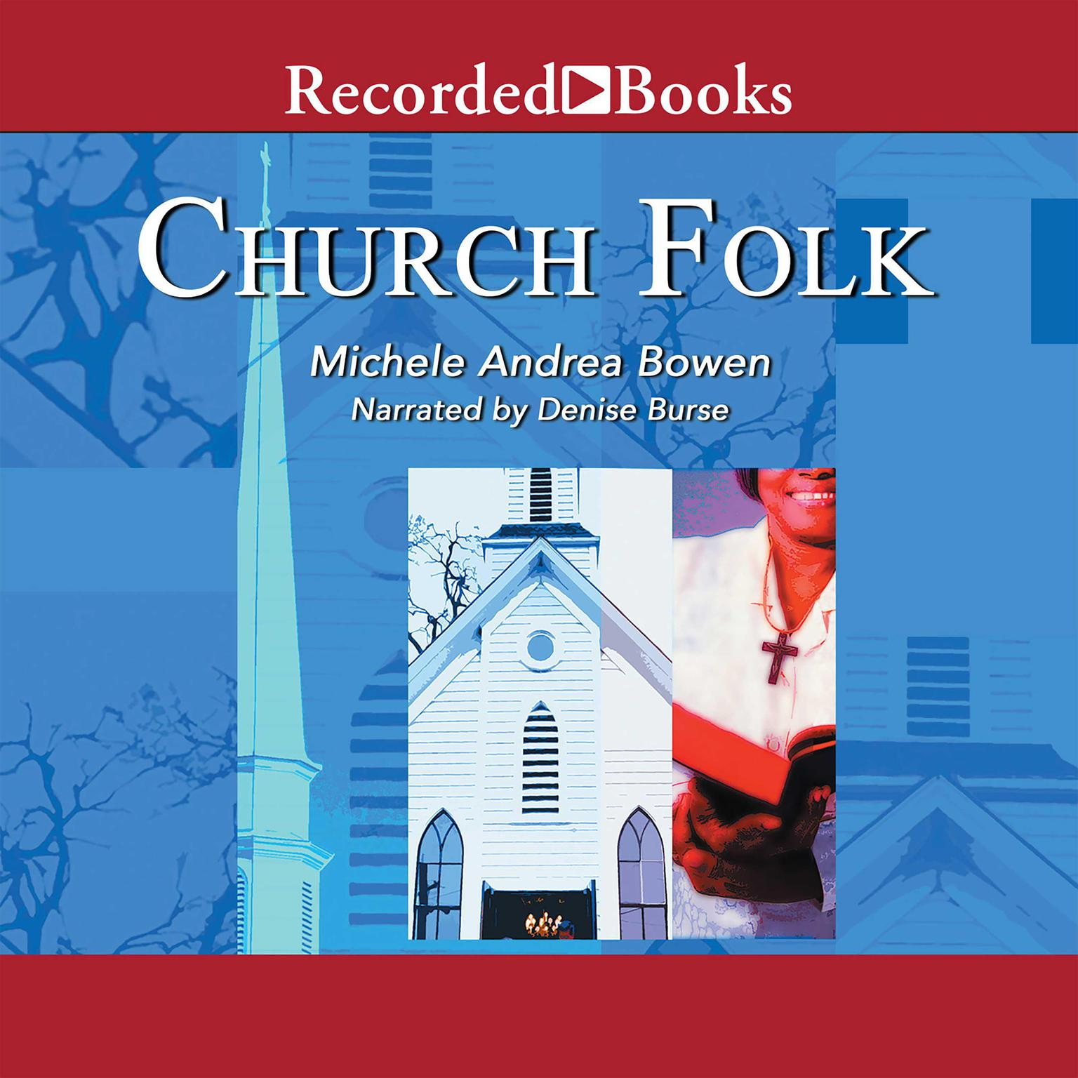 Printable Church Folk Audiobook Cover Art
