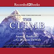 The Climb Audiobook, by Anatoli Boukreev, G. Weston De Walt