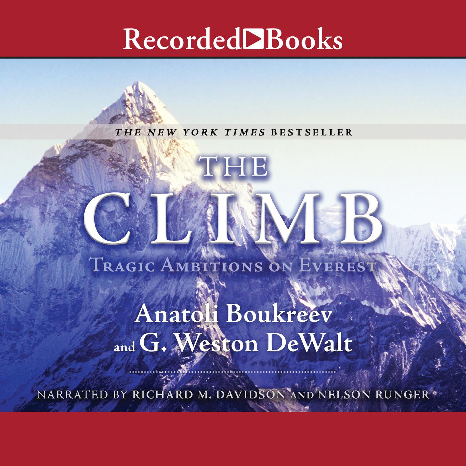 Printable The Climb Audiobook Cover Art