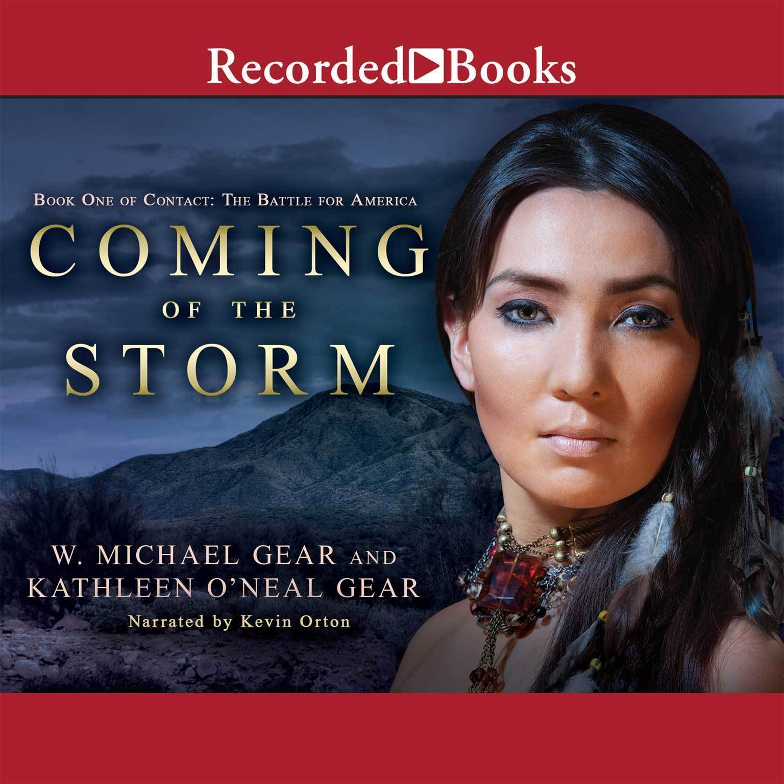 Printable Coming of the Storm Audiobook Cover Art
