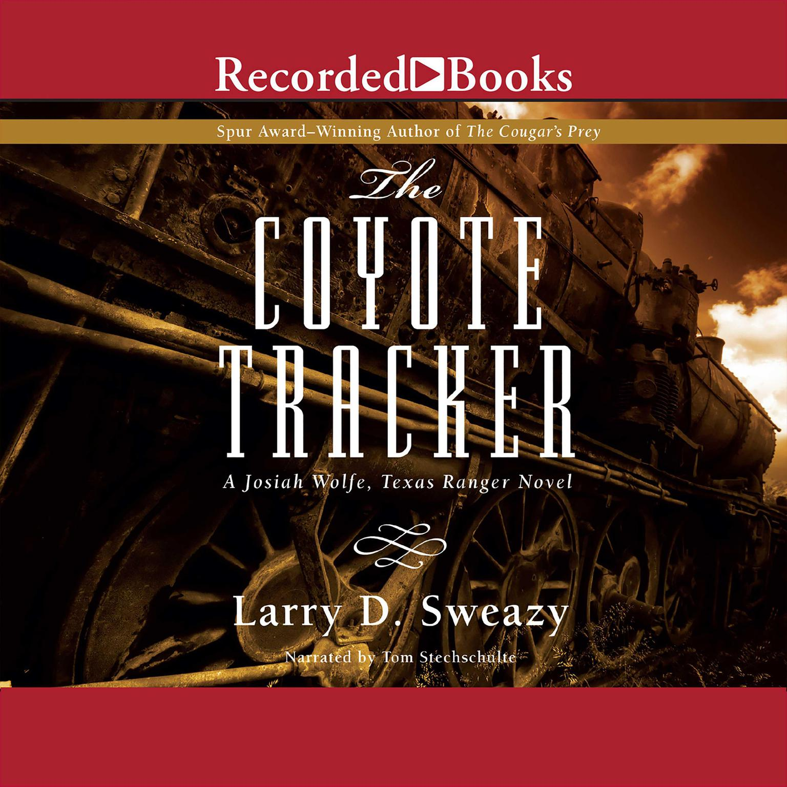 Printable The Coyote Tracker Audiobook Cover Art
