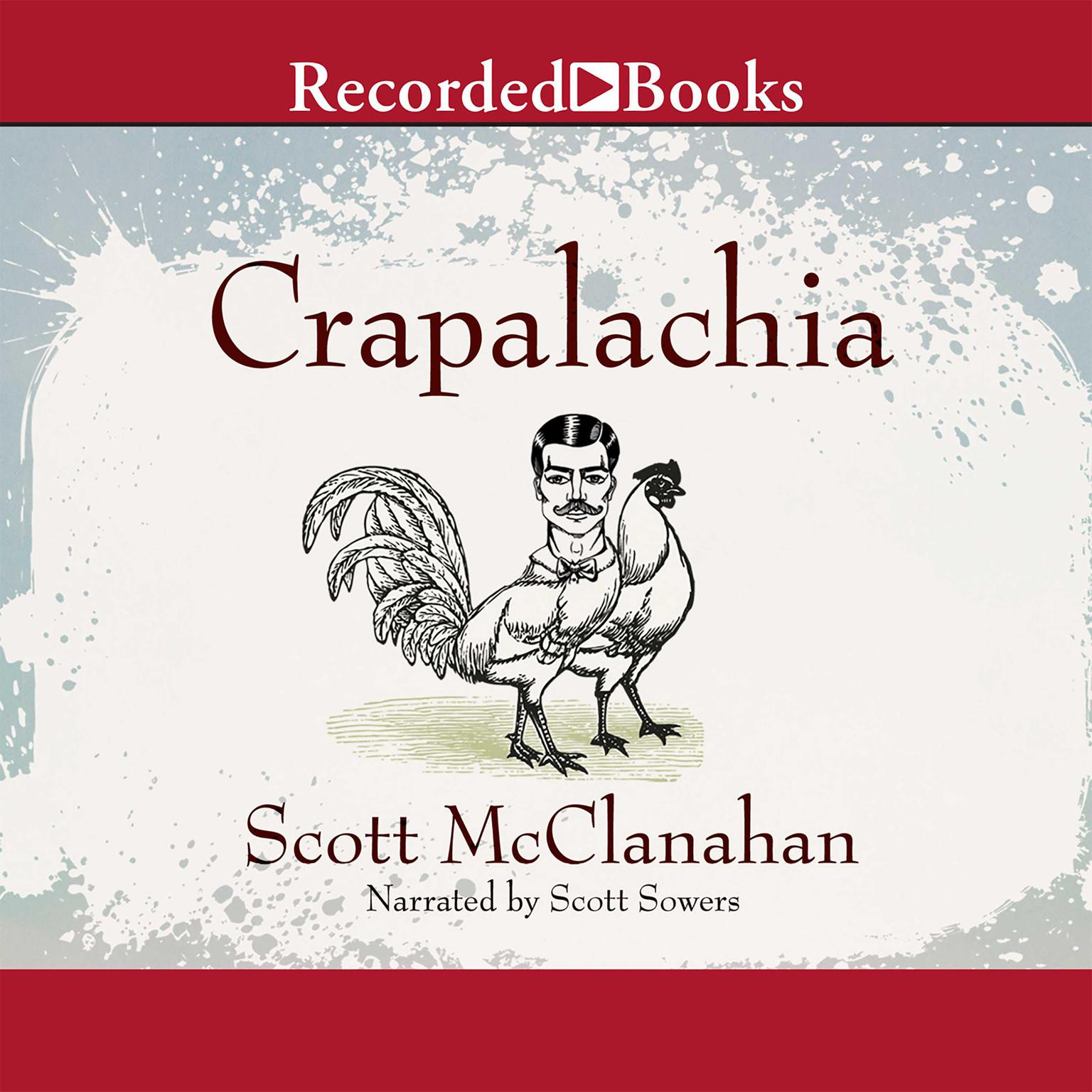 Printable Crapalachia Audiobook Cover Art