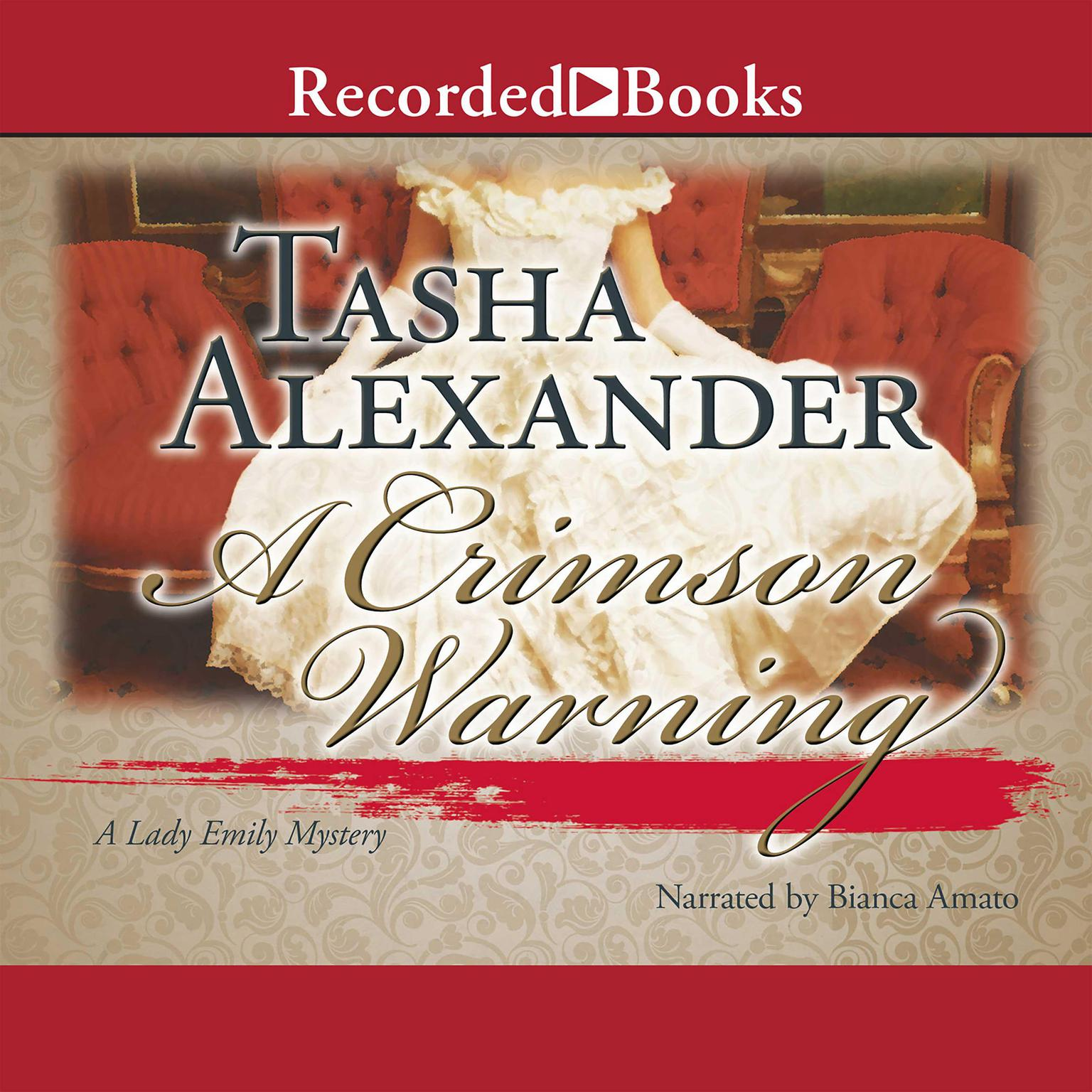 Printable A Crimson Warning Audiobook Cover Art
