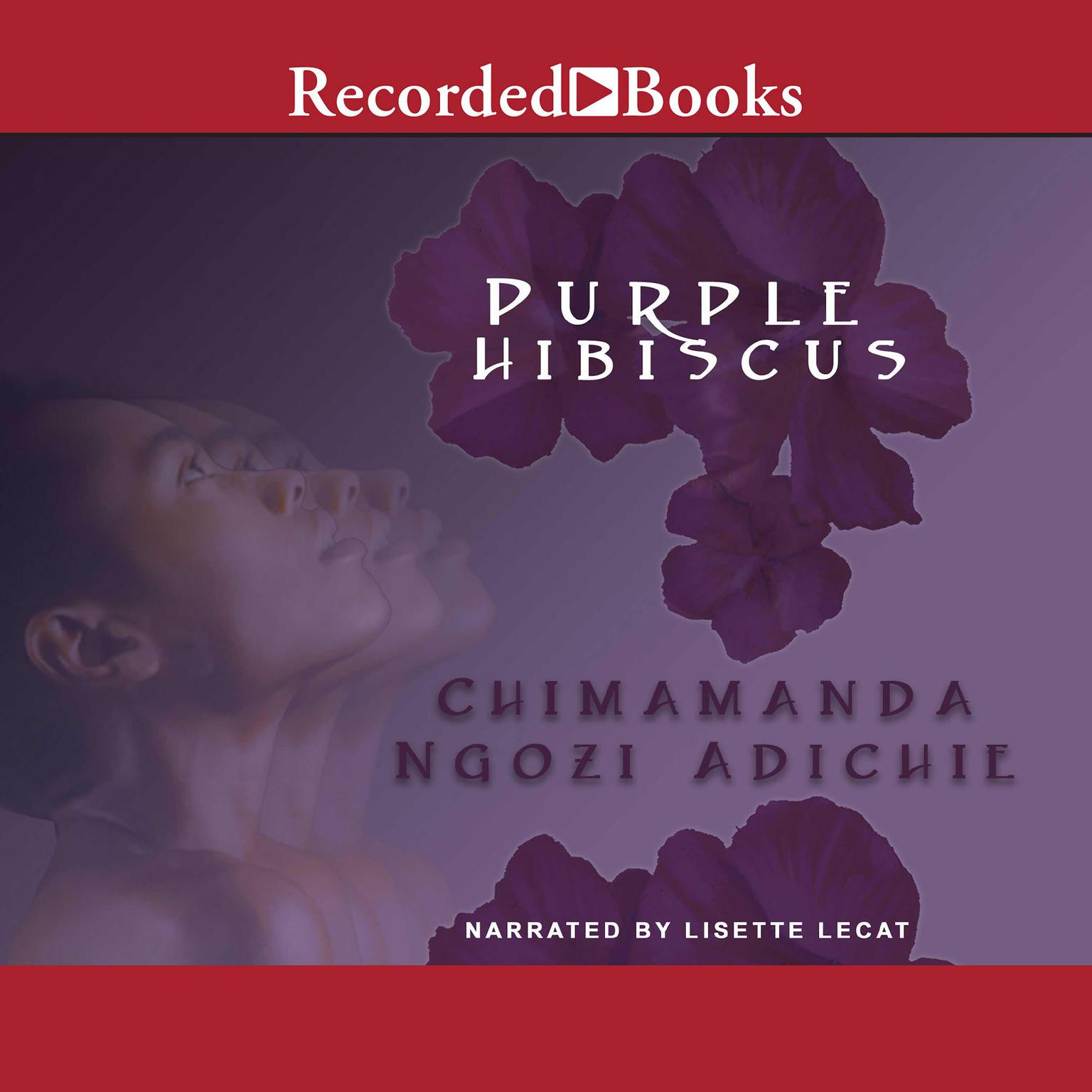 Printable Purple Hibiscus Audiobook Cover Art