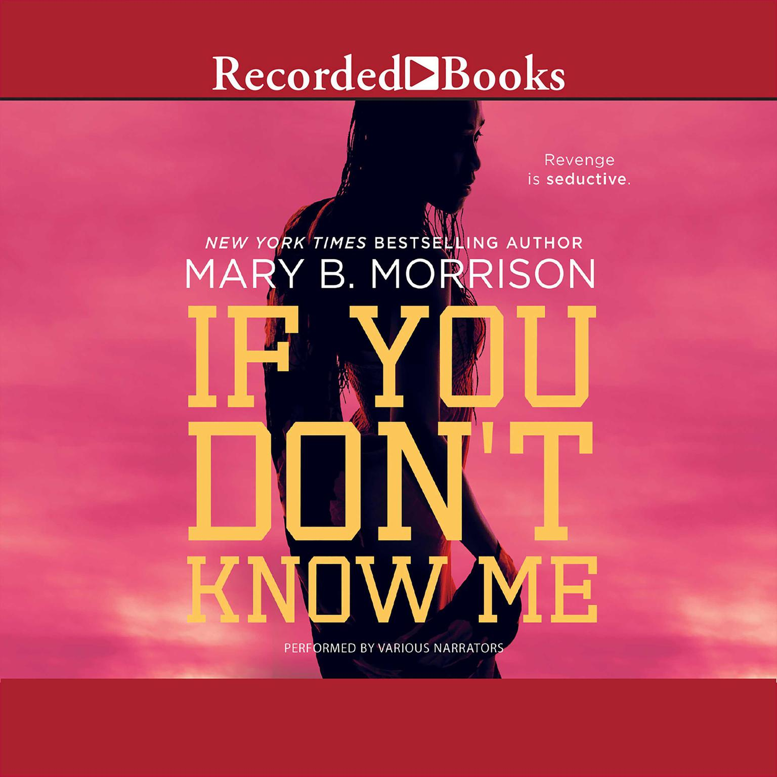 Printable If You Don't Know Me Audiobook Cover Art
