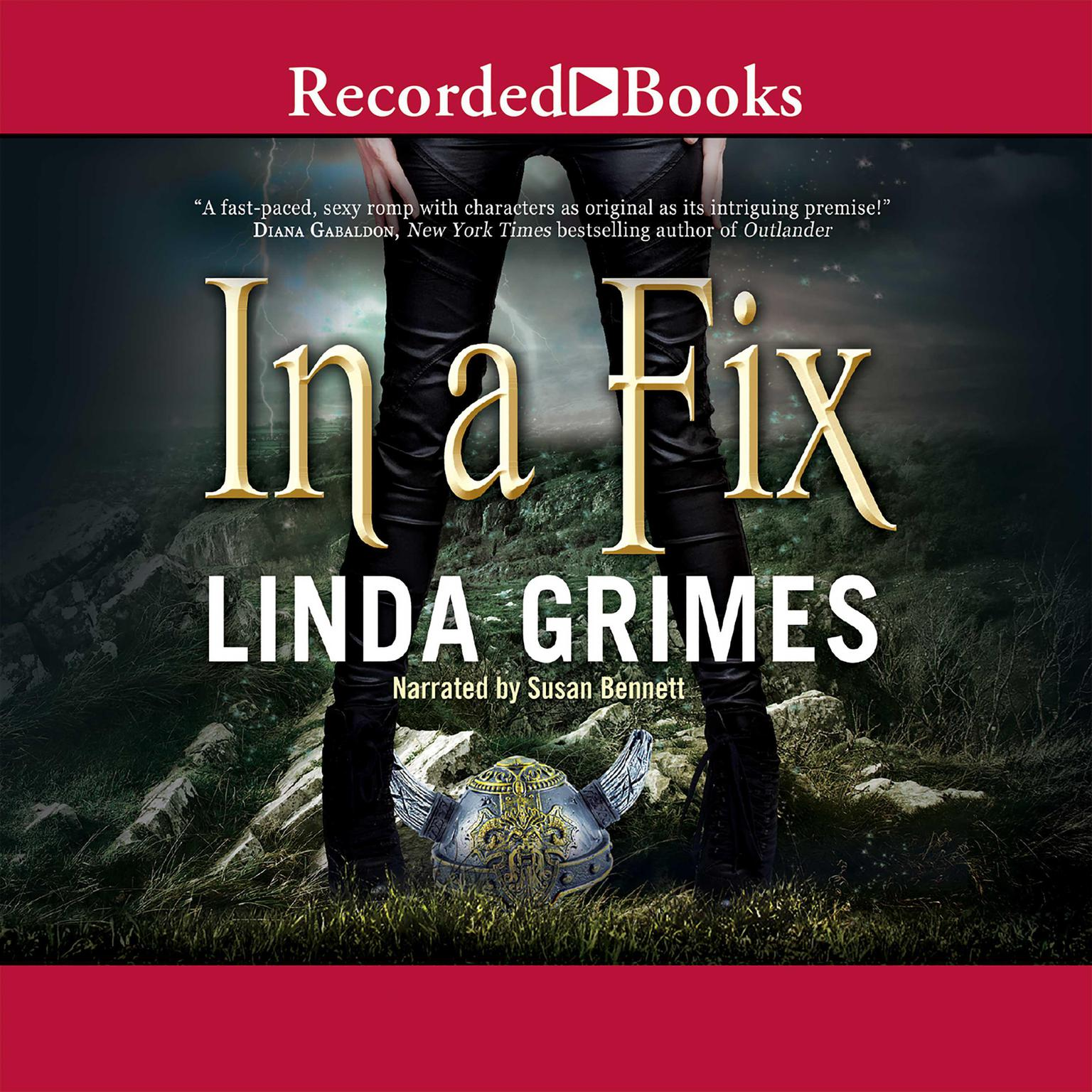 Printable In a Fix Audiobook Cover Art
