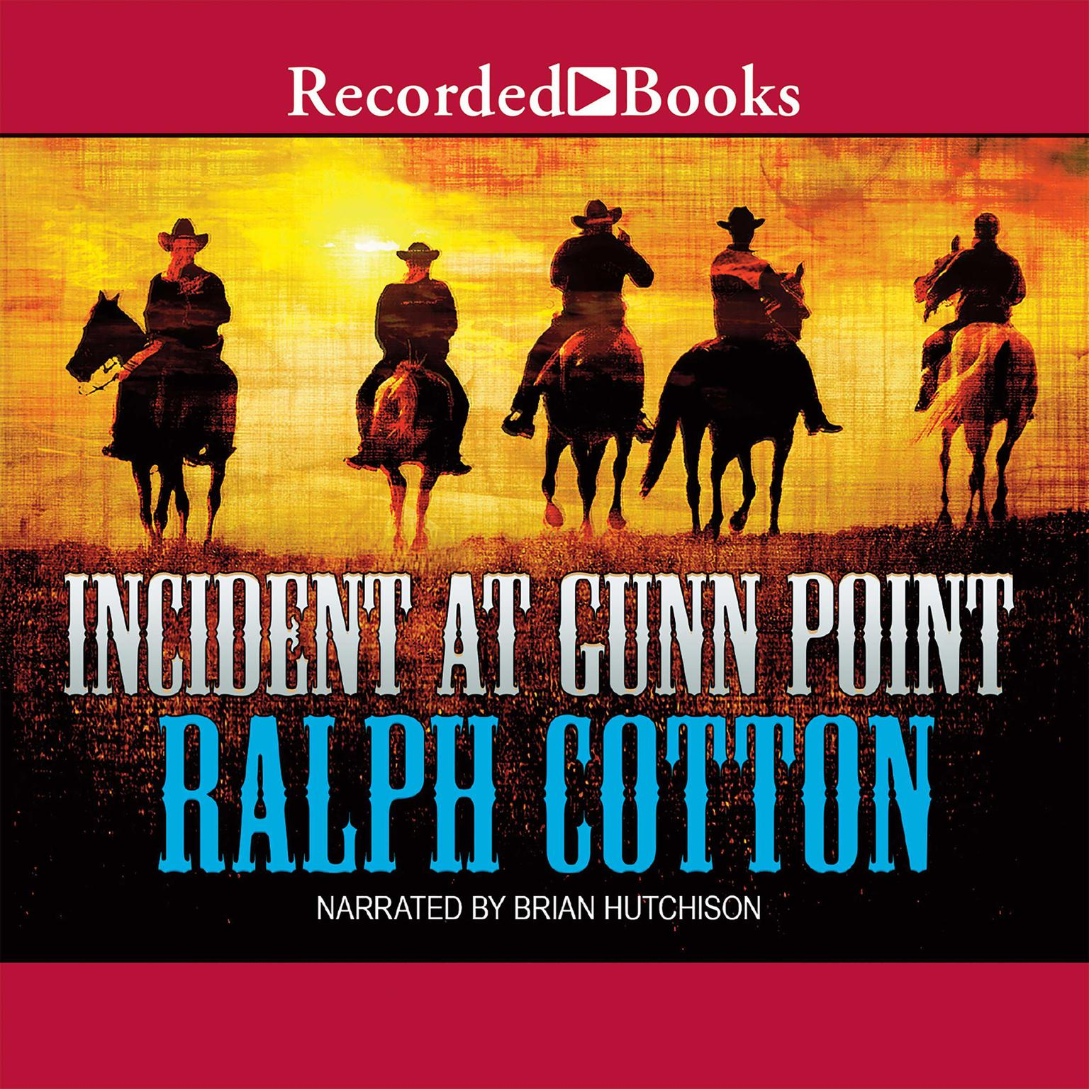 Printable Incident at Gunn Point Audiobook Cover Art