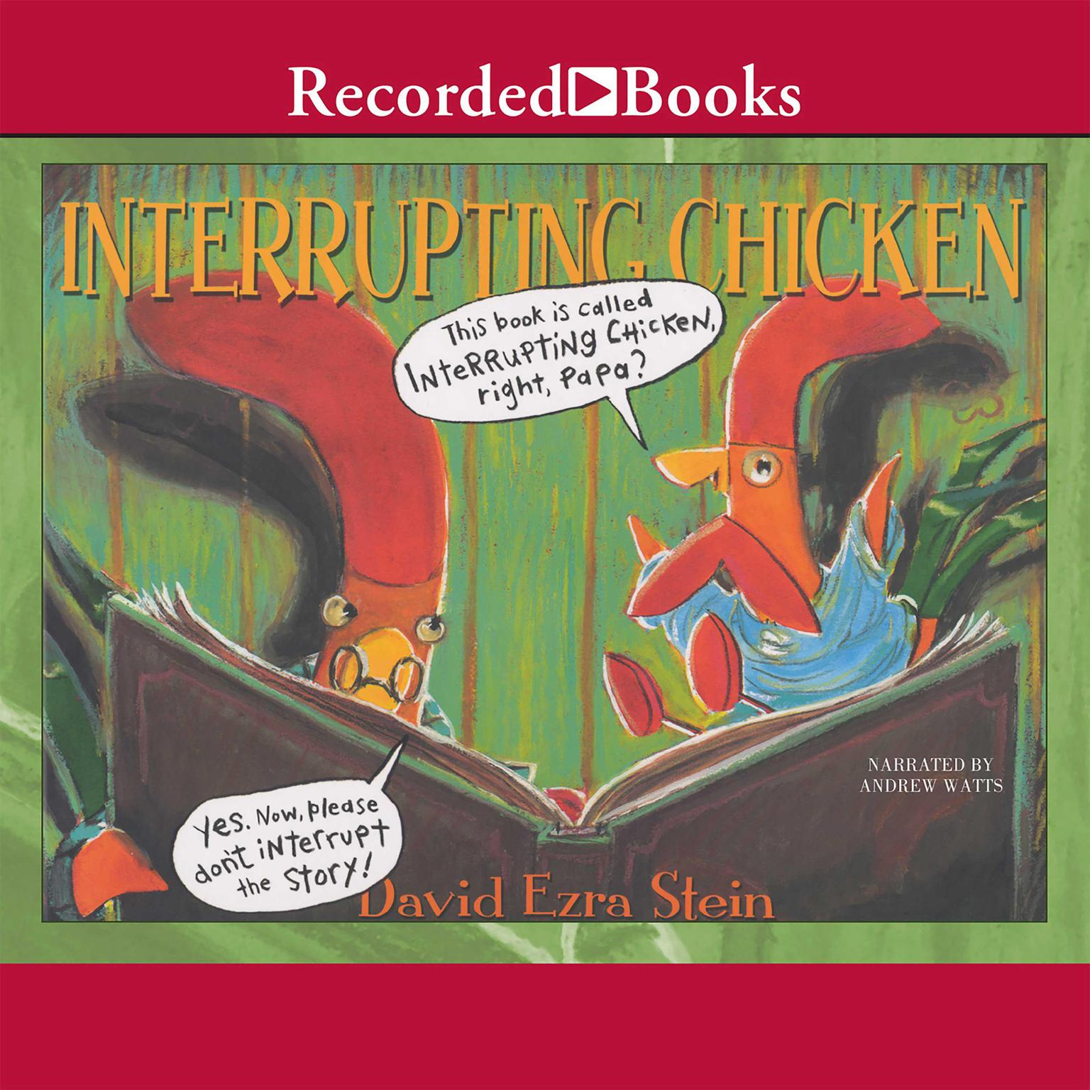 Printable Interrupting Chicken Audiobook Cover Art