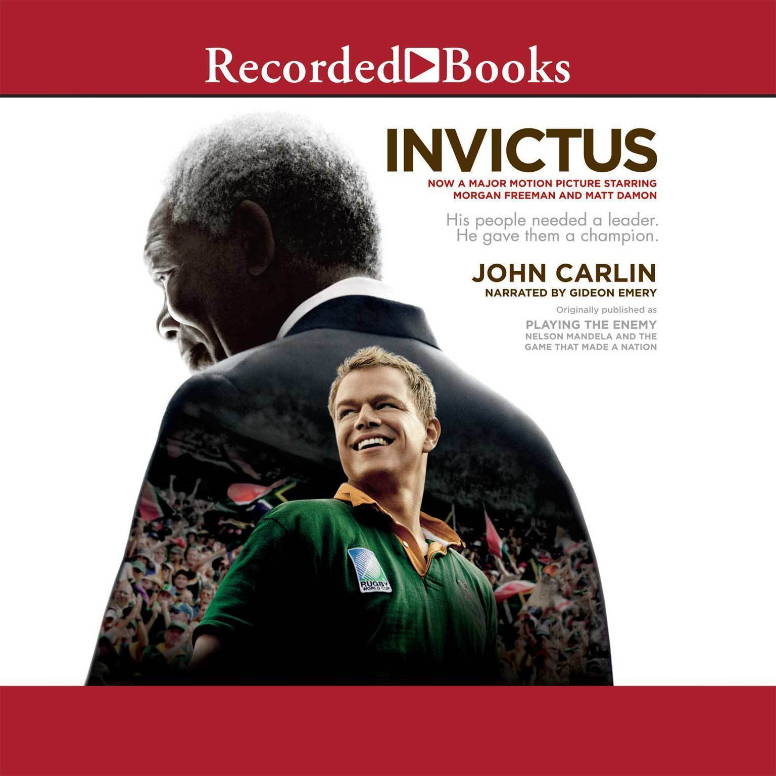 Printable Invictus: Nelson Mandela and the Game That Made a Nation Audiobook Cover Art