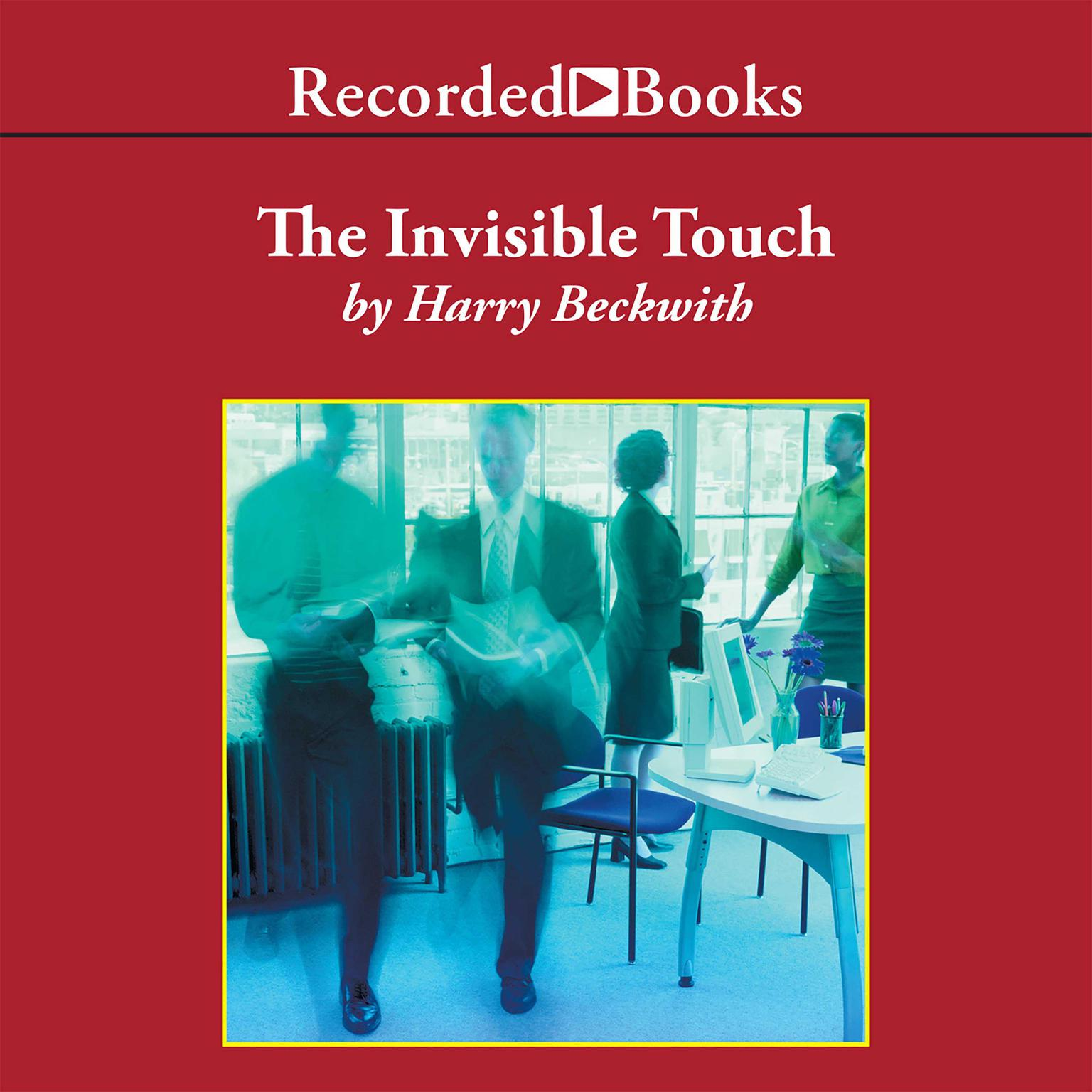 Printable The Invisible Touch: The Four Keys to Modern Marketing Audiobook Cover Art