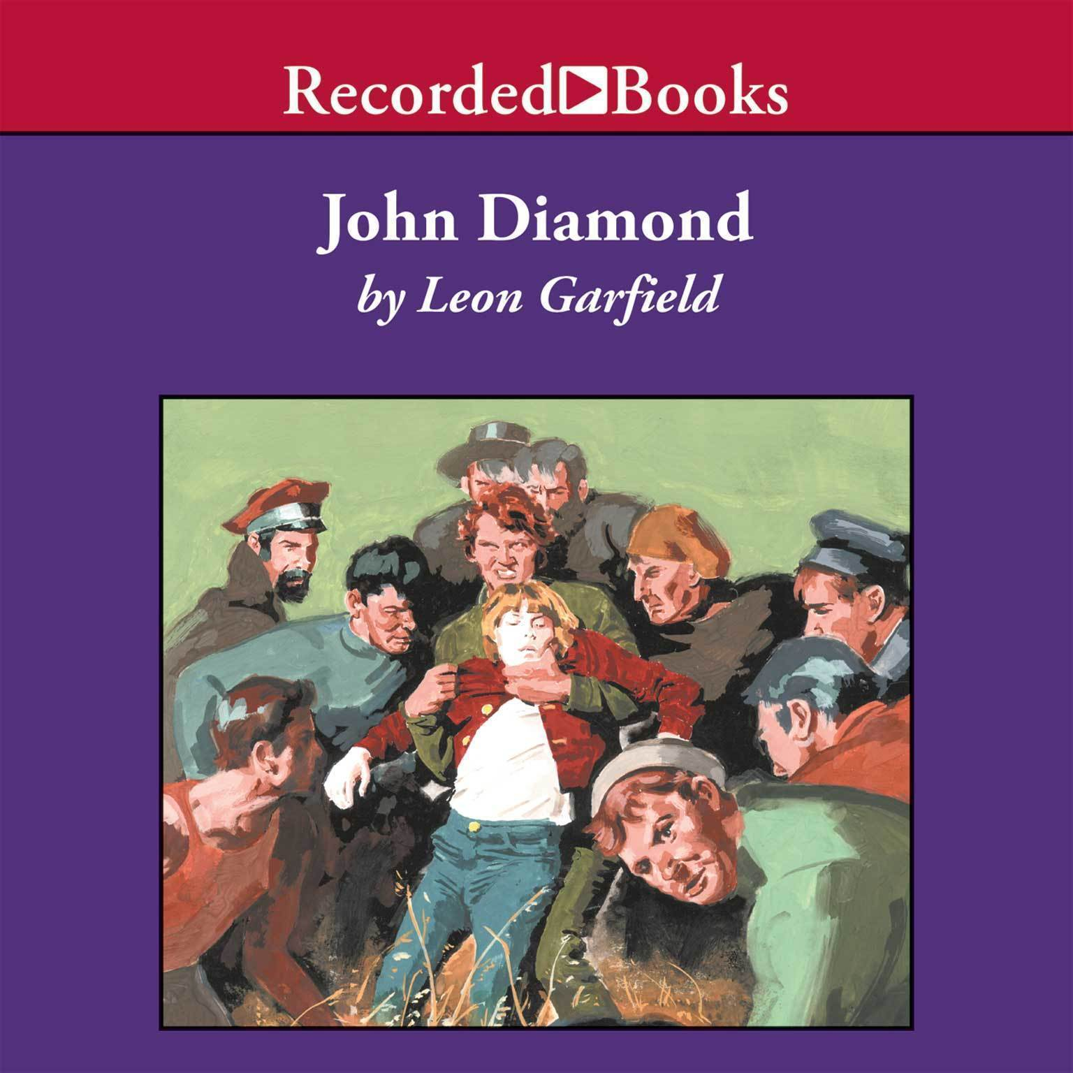 Printable John Diamond Audiobook Cover Art