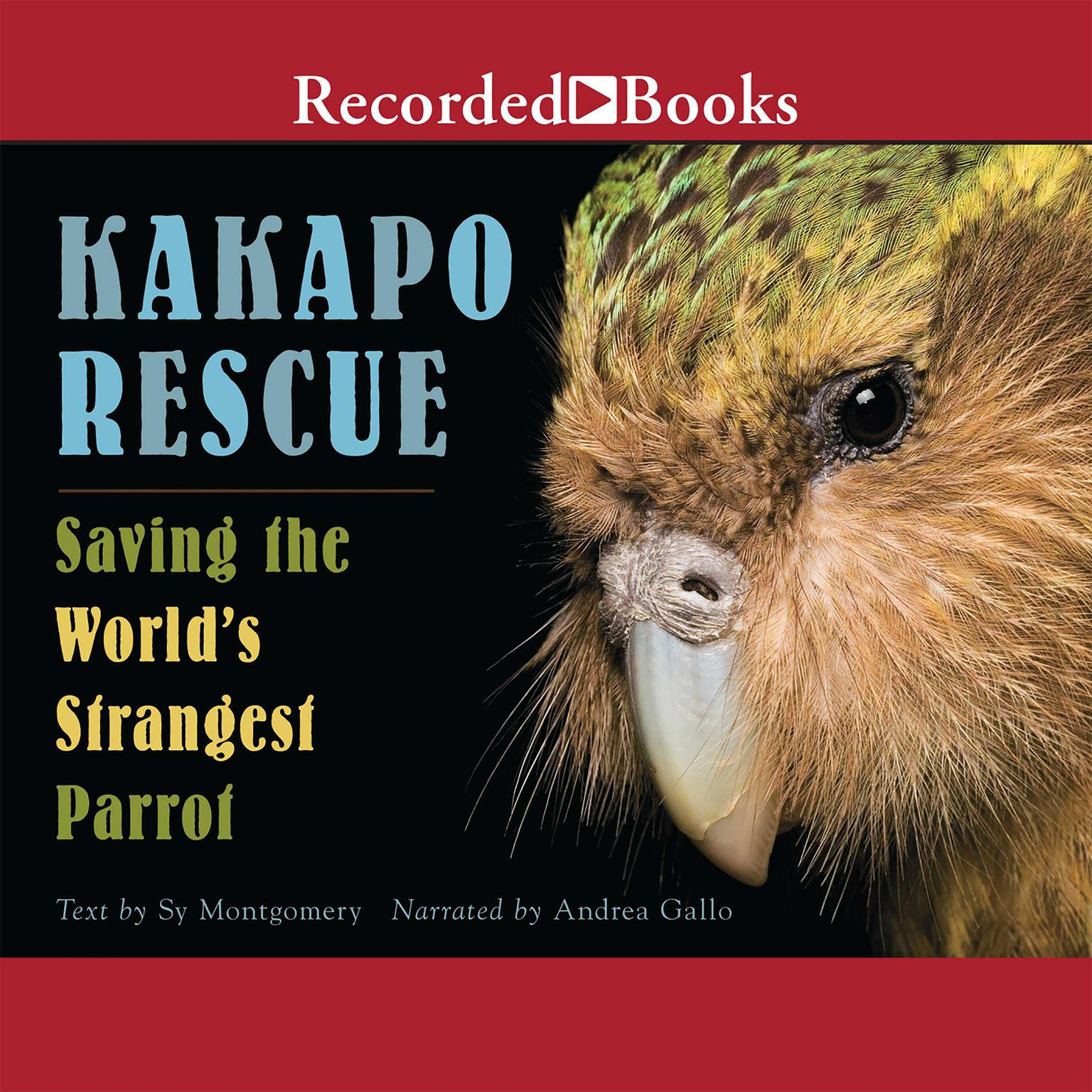 Printable Kakapo Rescue: Saving the World's Strangest Parrot Audiobook Cover Art