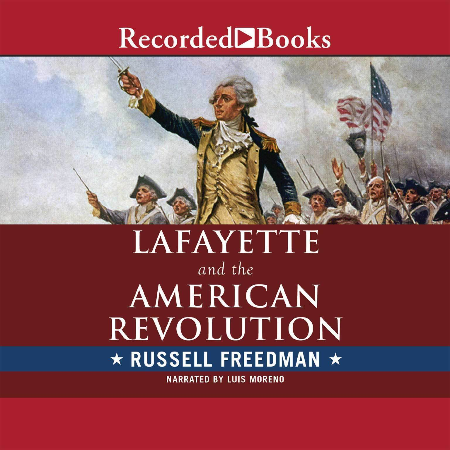 Printable Lafayette and the American Revolution Audiobook Cover Art