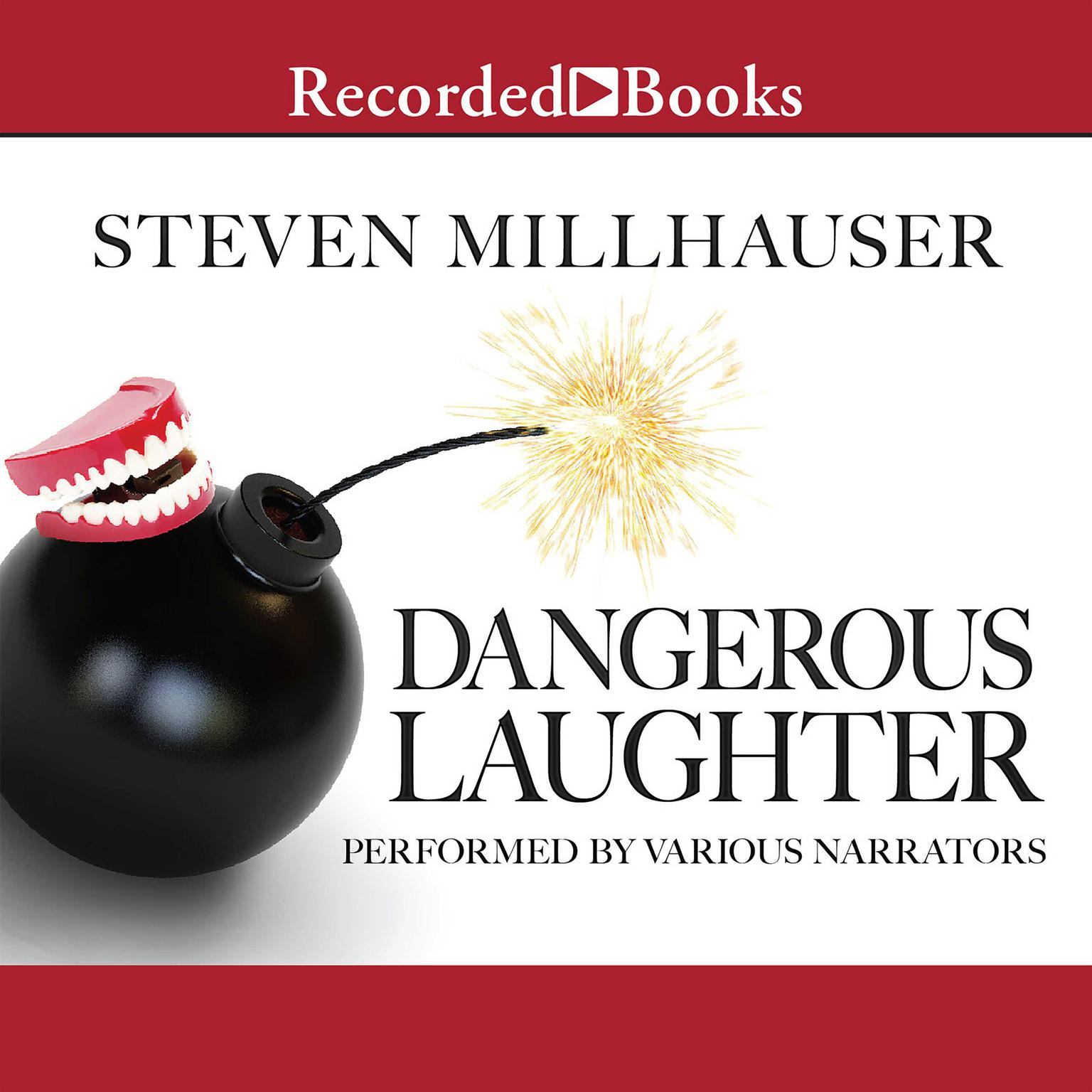 Printable Dangerous Laughter: Thirteen Stories Audiobook Cover Art