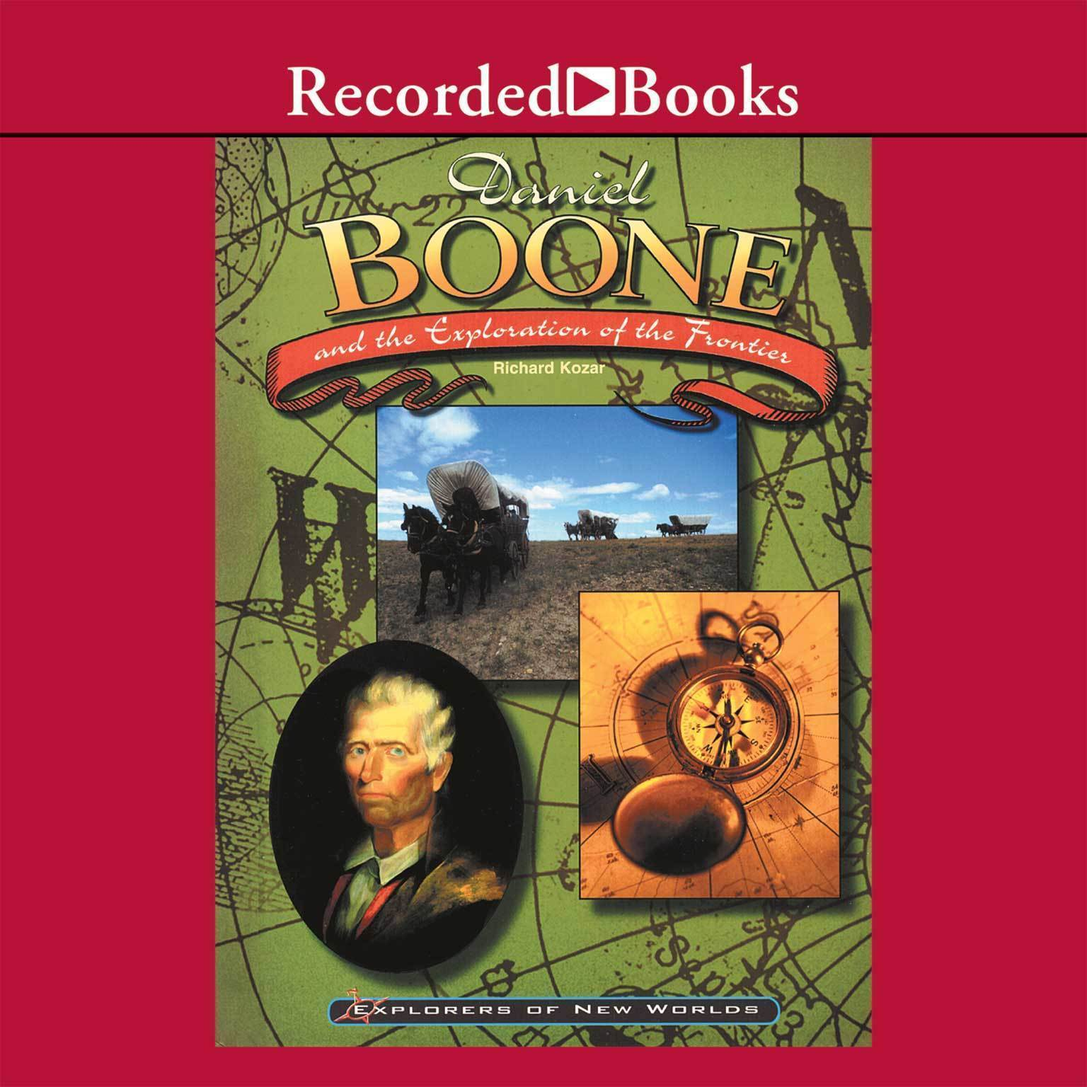 Printable Daniel Boone Audiobook Cover Art