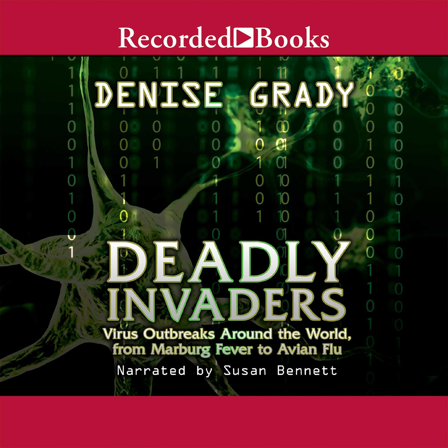 Printable Deadly Invaders Audiobook Cover Art