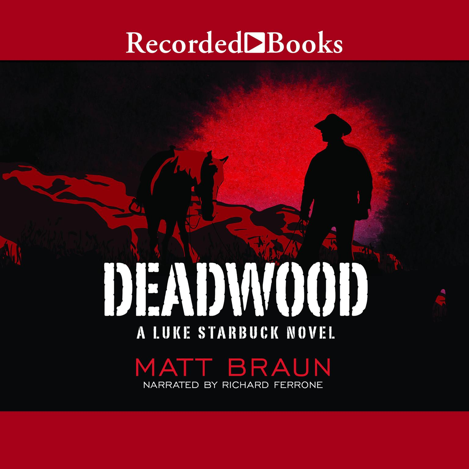 Printable Deadwood Audiobook Cover Art