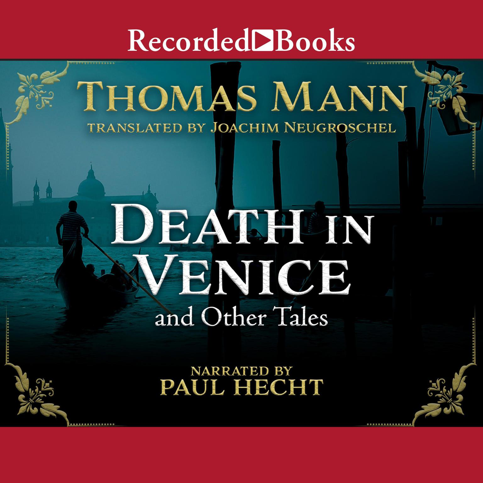 Printable Death in Venice and Other Tales Audiobook Cover Art