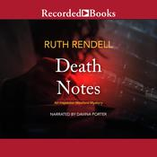 Death Notes, by Ruth Rendell