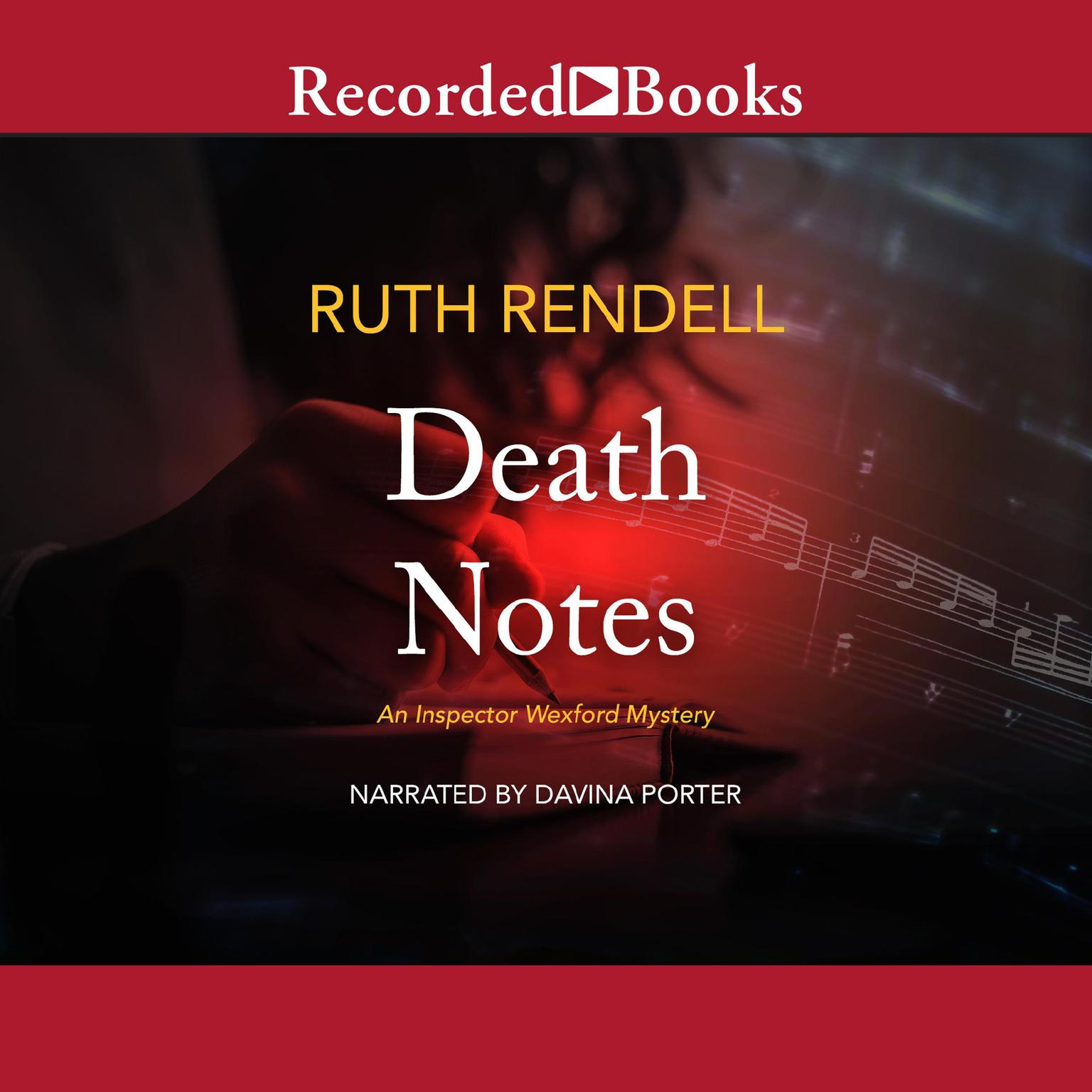 Printable Death Notes Audiobook Cover Art