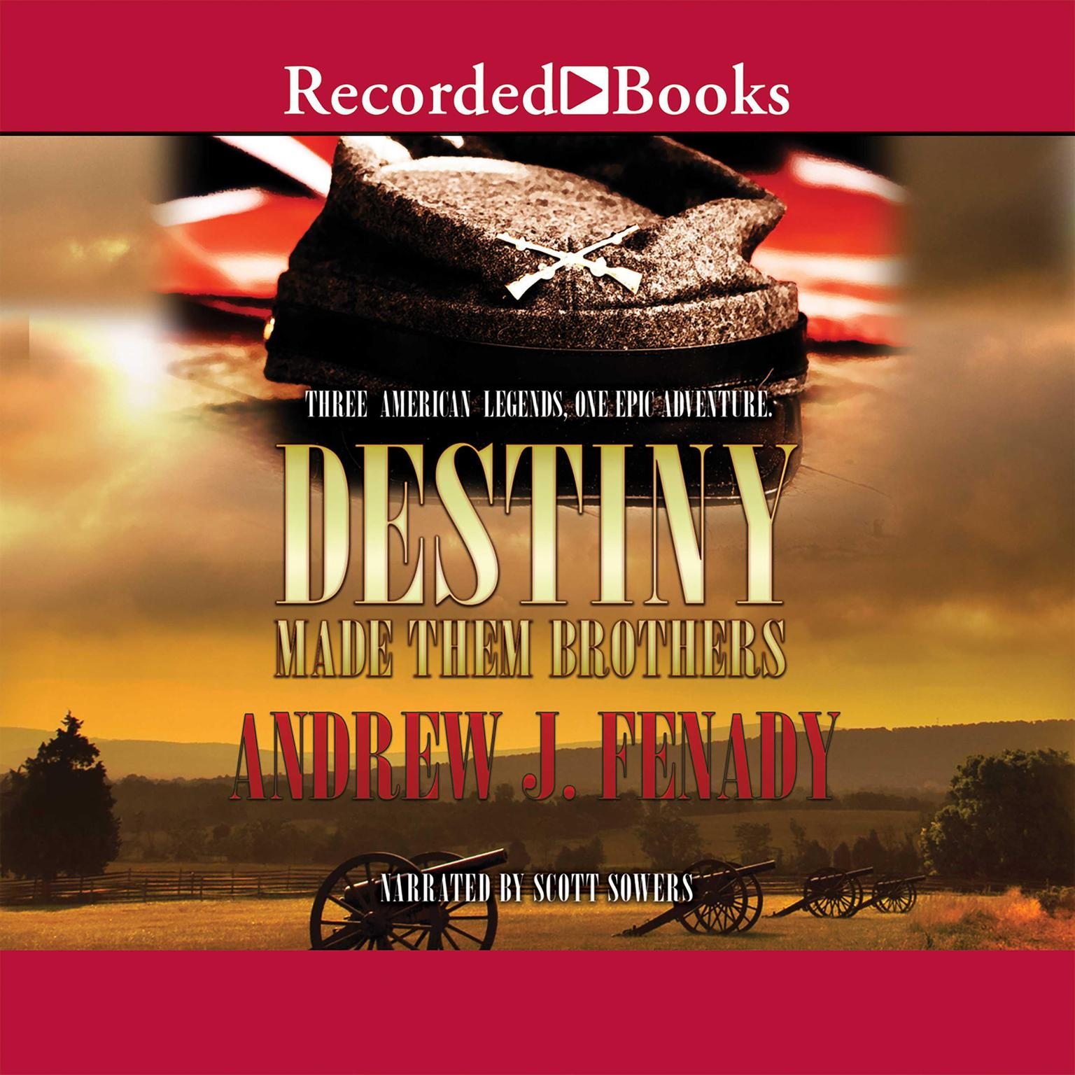 Printable Destiny Made Them Brothers Audiobook Cover Art