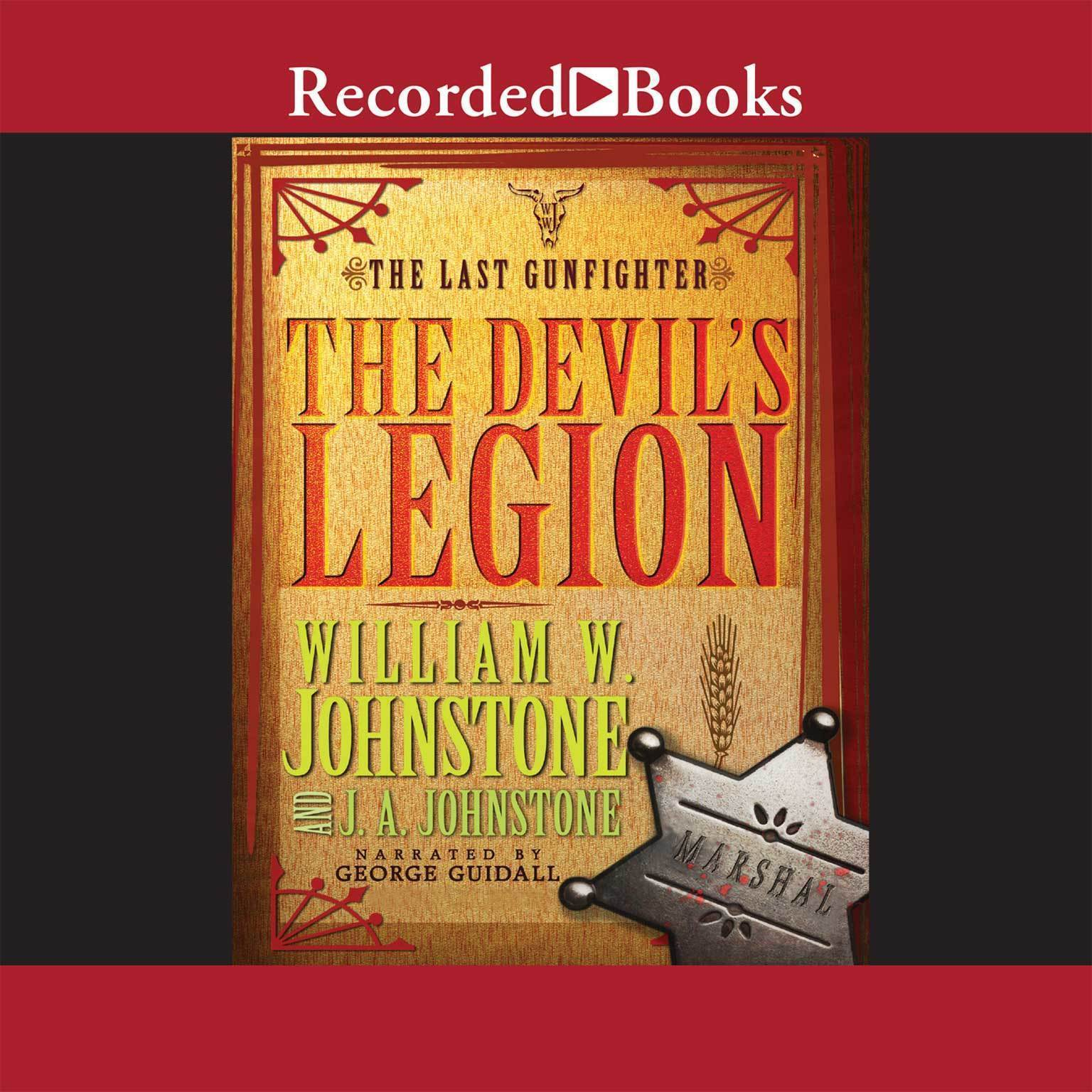 Printable The Devil's Legion Audiobook Cover Art