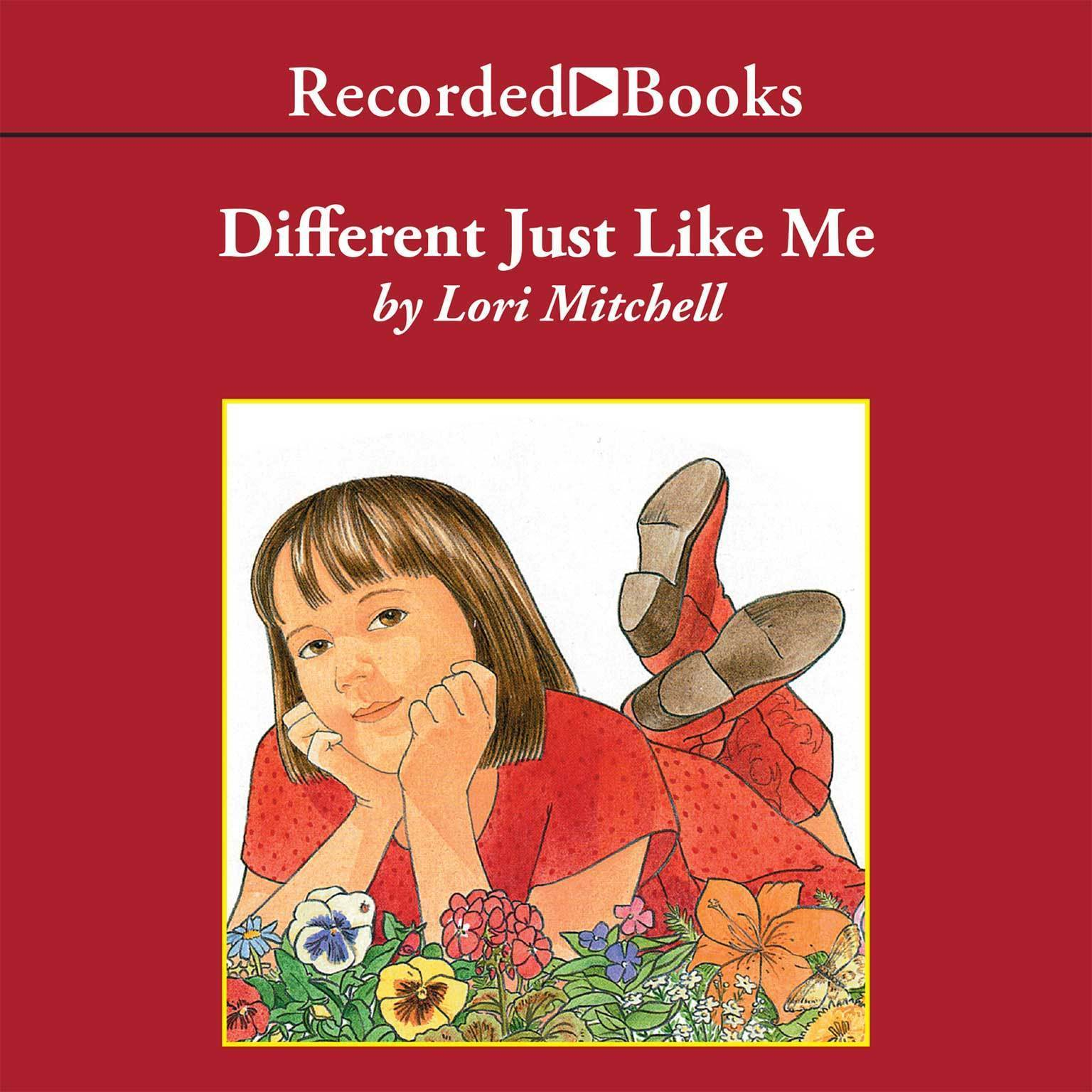 Printable Different Just Like Me Audiobook Cover Art