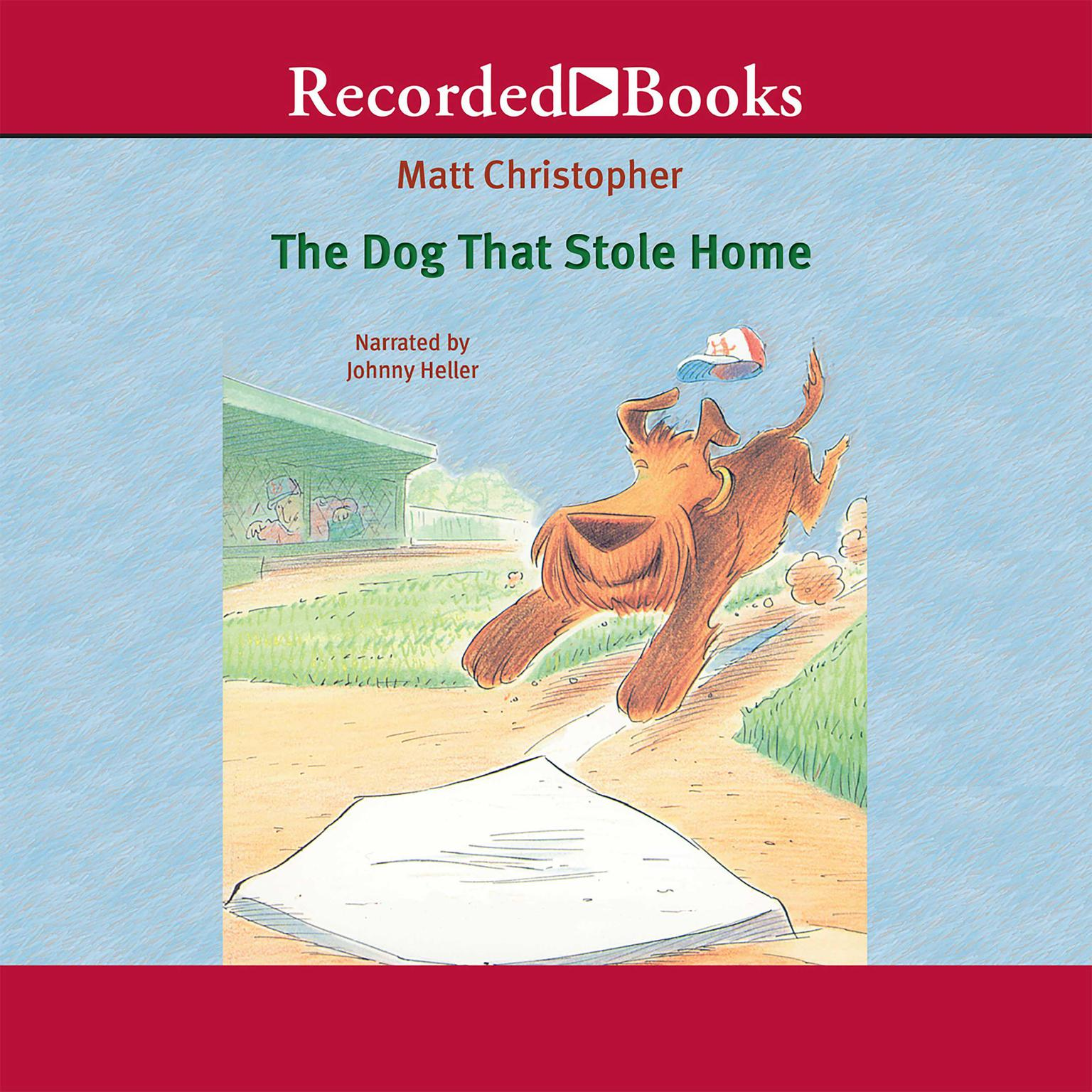 Printable The Dog That Stole Home Audiobook Cover Art