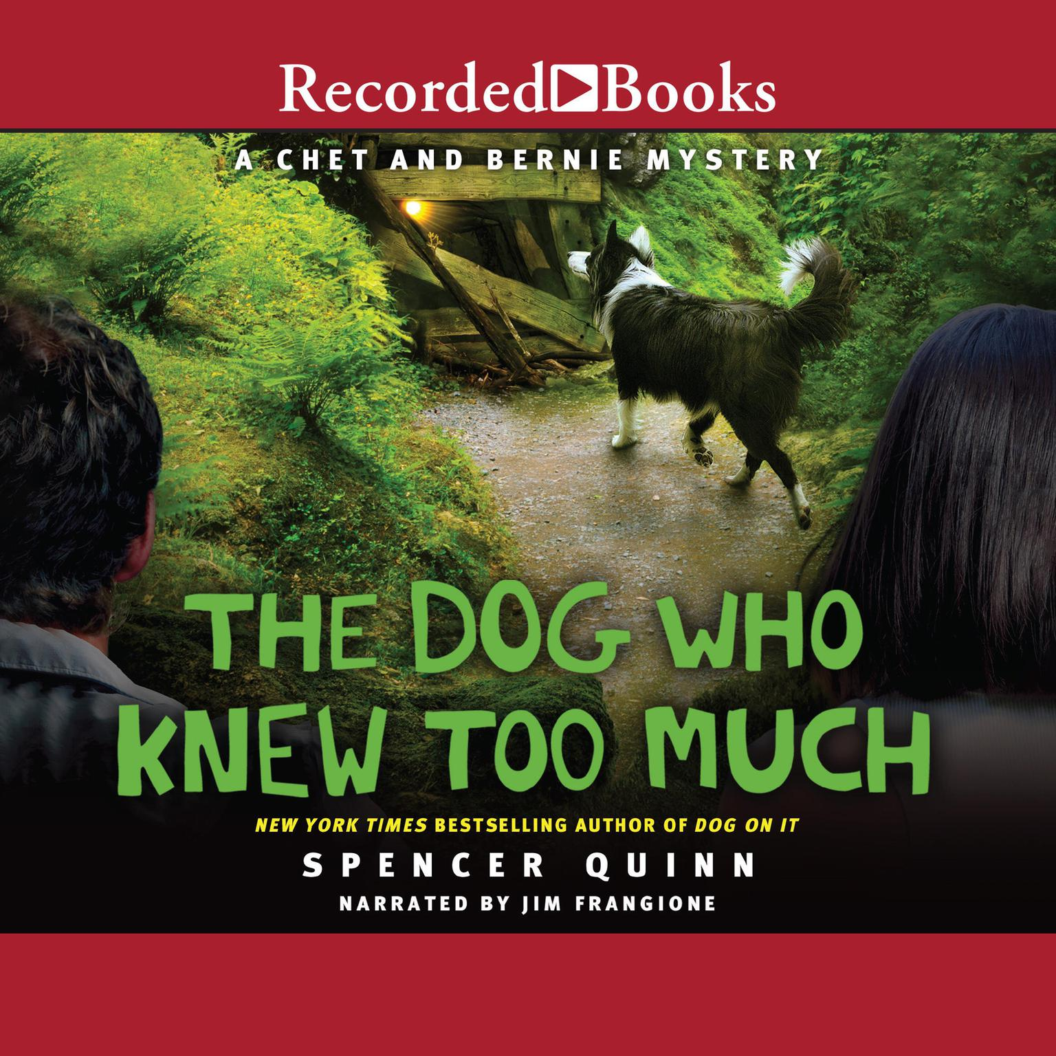 Printable The Dog Who Knew Too Much Audiobook Cover Art