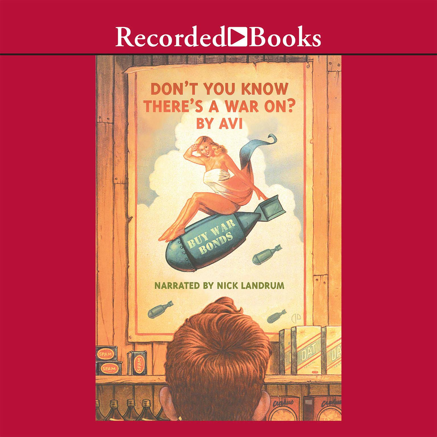 Printable Don't You Know There's a War On? Audiobook Cover Art