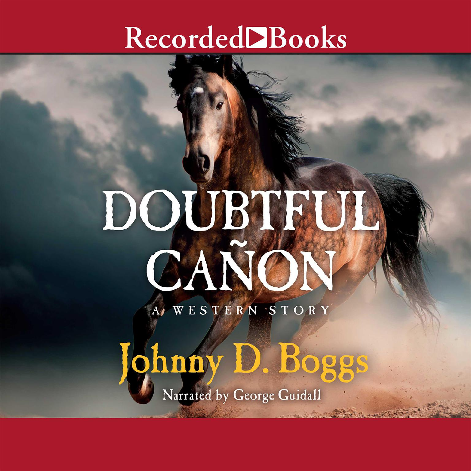 Printable Doubtful Cañon Audiobook Cover Art