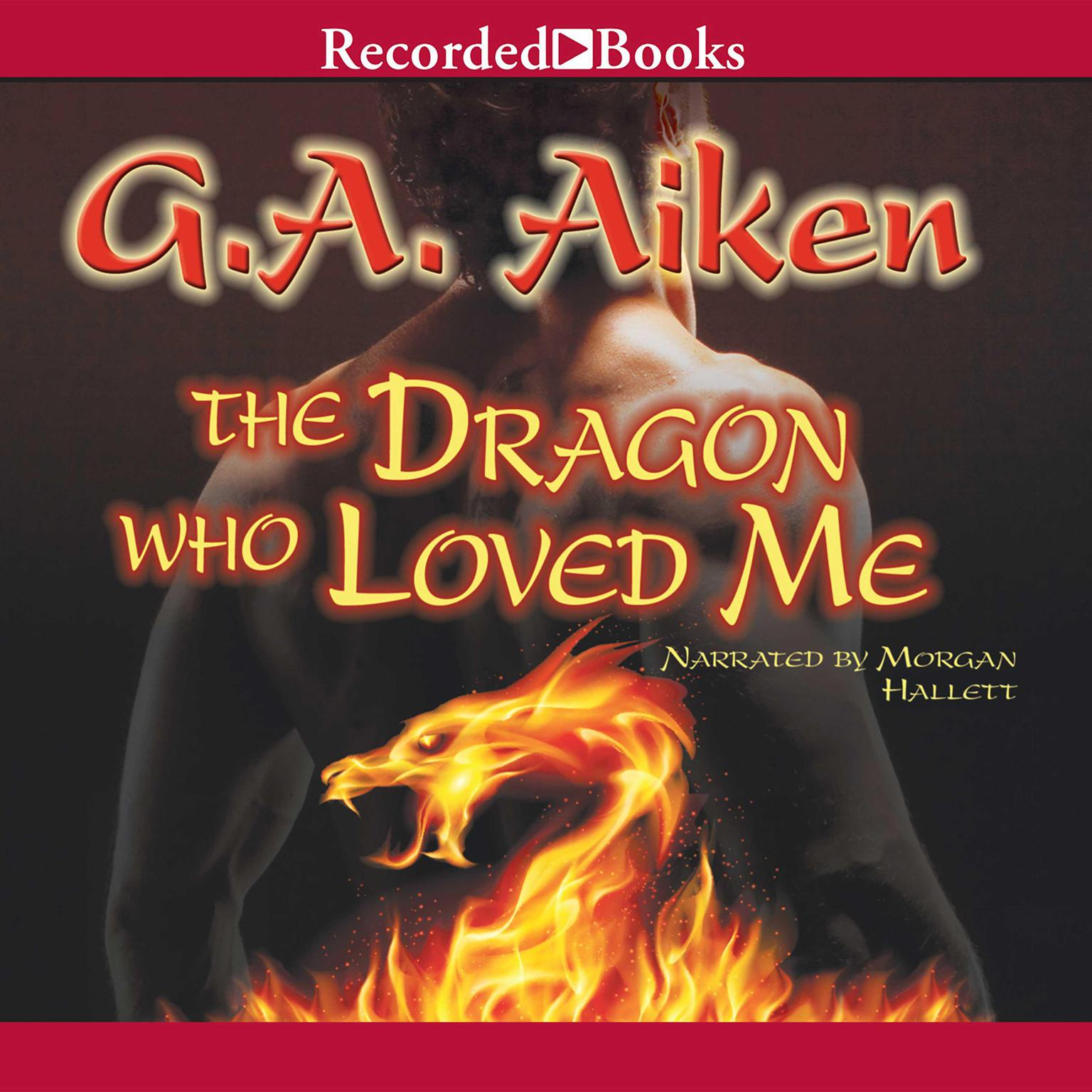 Printable The Dragon Who Loved Me Audiobook Cover Art