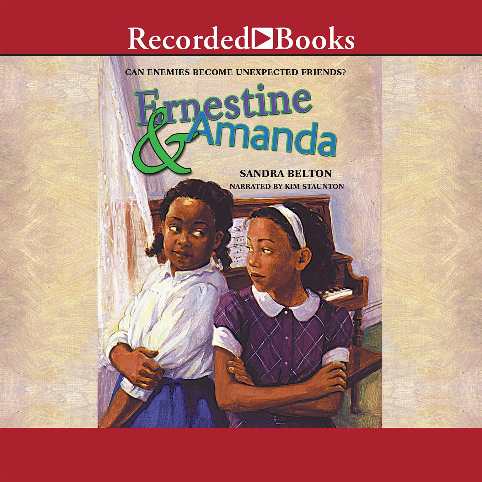 Printable Ernestine and Amanda Audiobook Cover Art