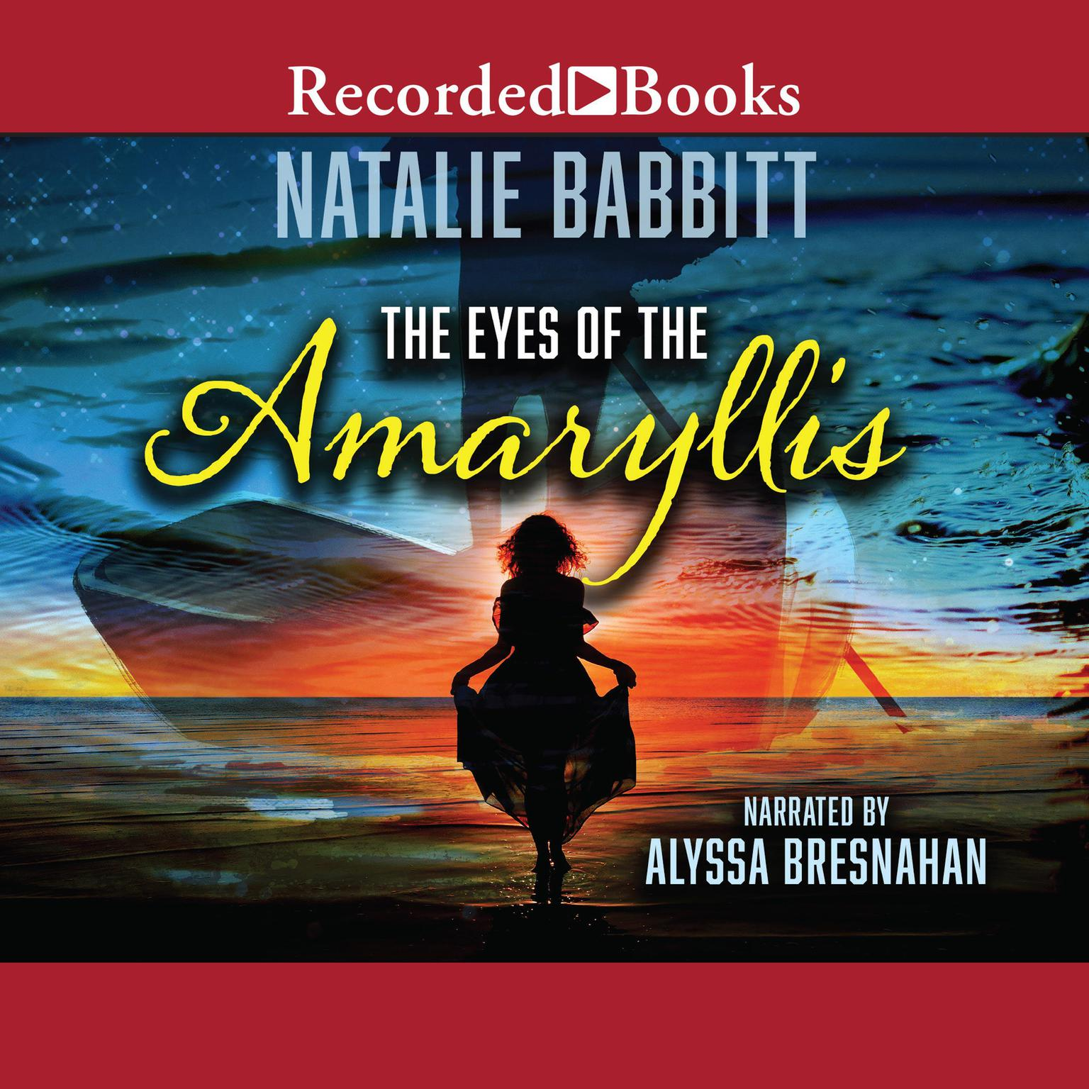 Printable The Eyes of the Amaryllis Audiobook Cover Art