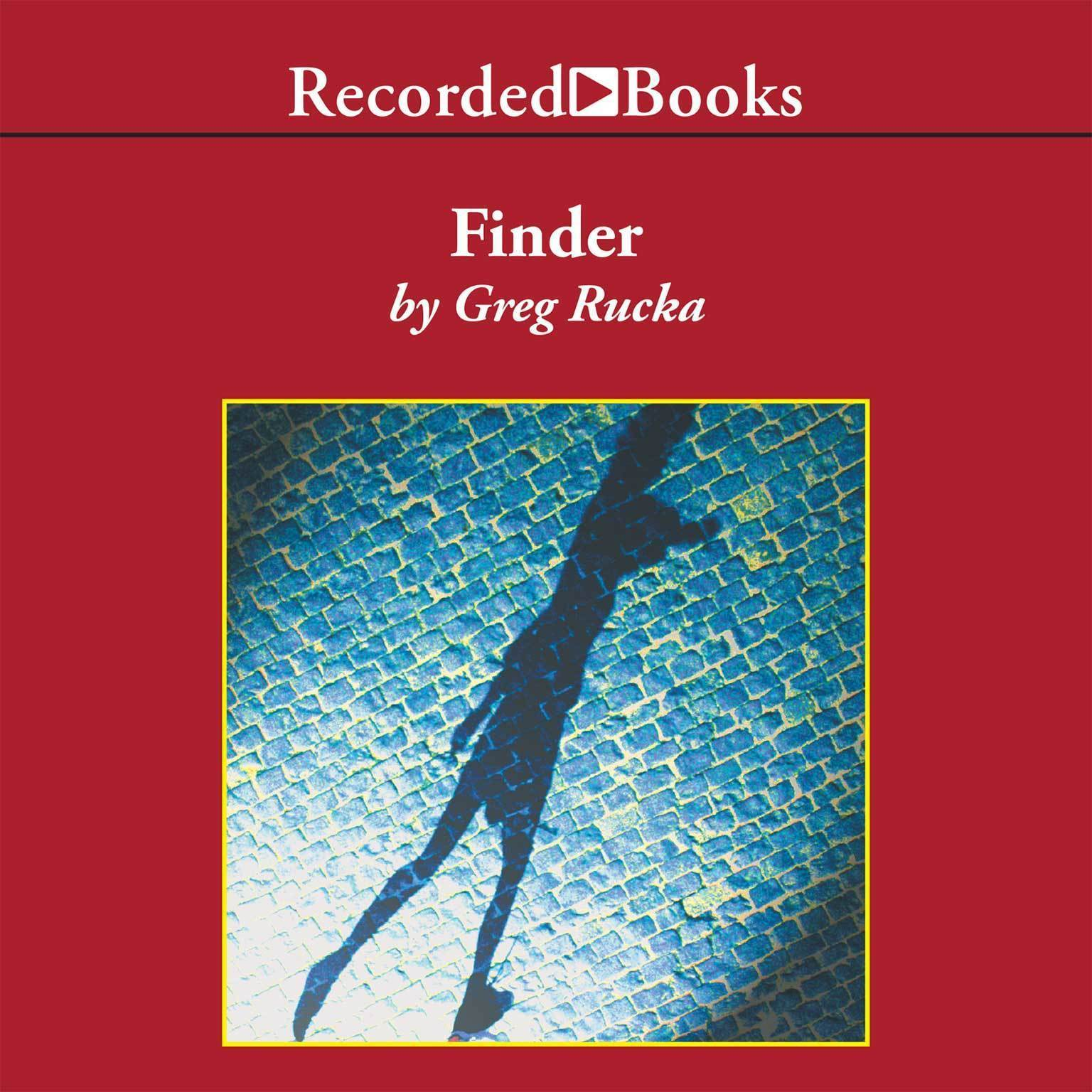 Printable Finder Audiobook Cover Art
