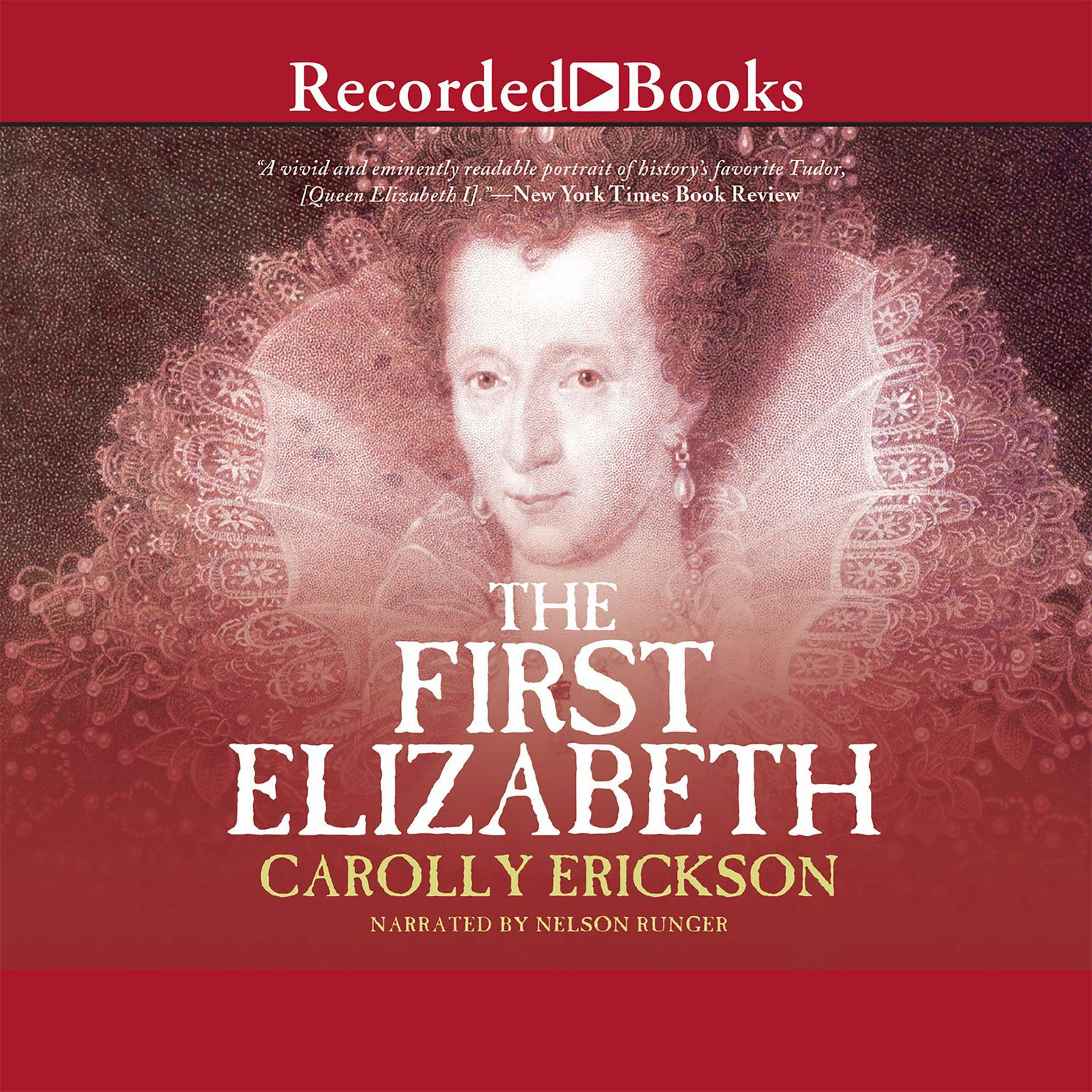 Printable The First Elizabeth Audiobook Cover Art