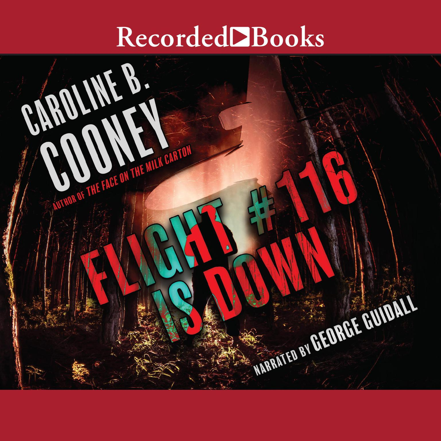 Printable Flight #116 Is Down Audiobook Cover Art