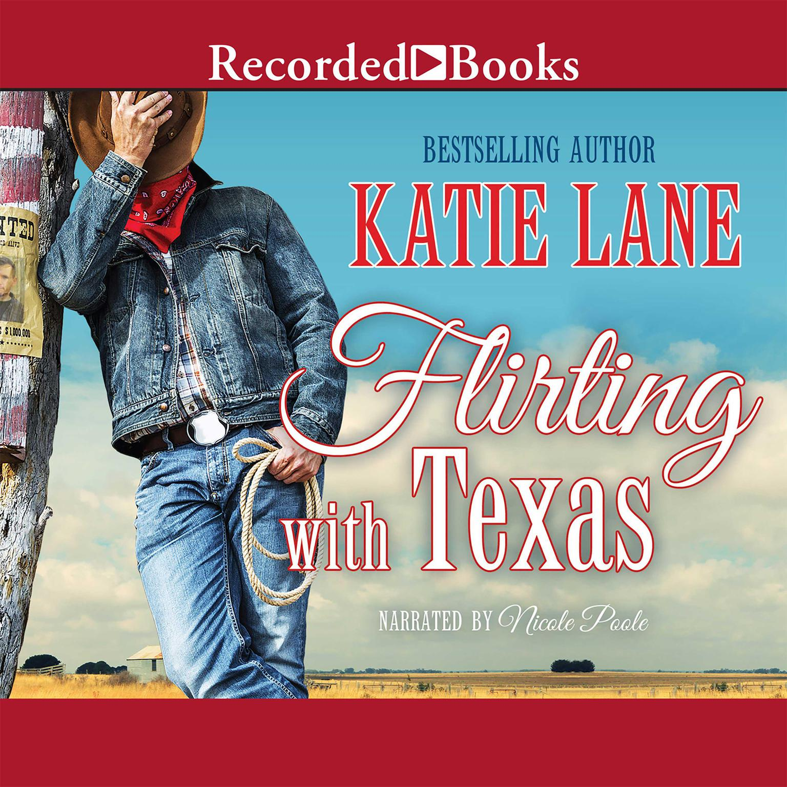 Printable Flirting with Texas Audiobook Cover Art
