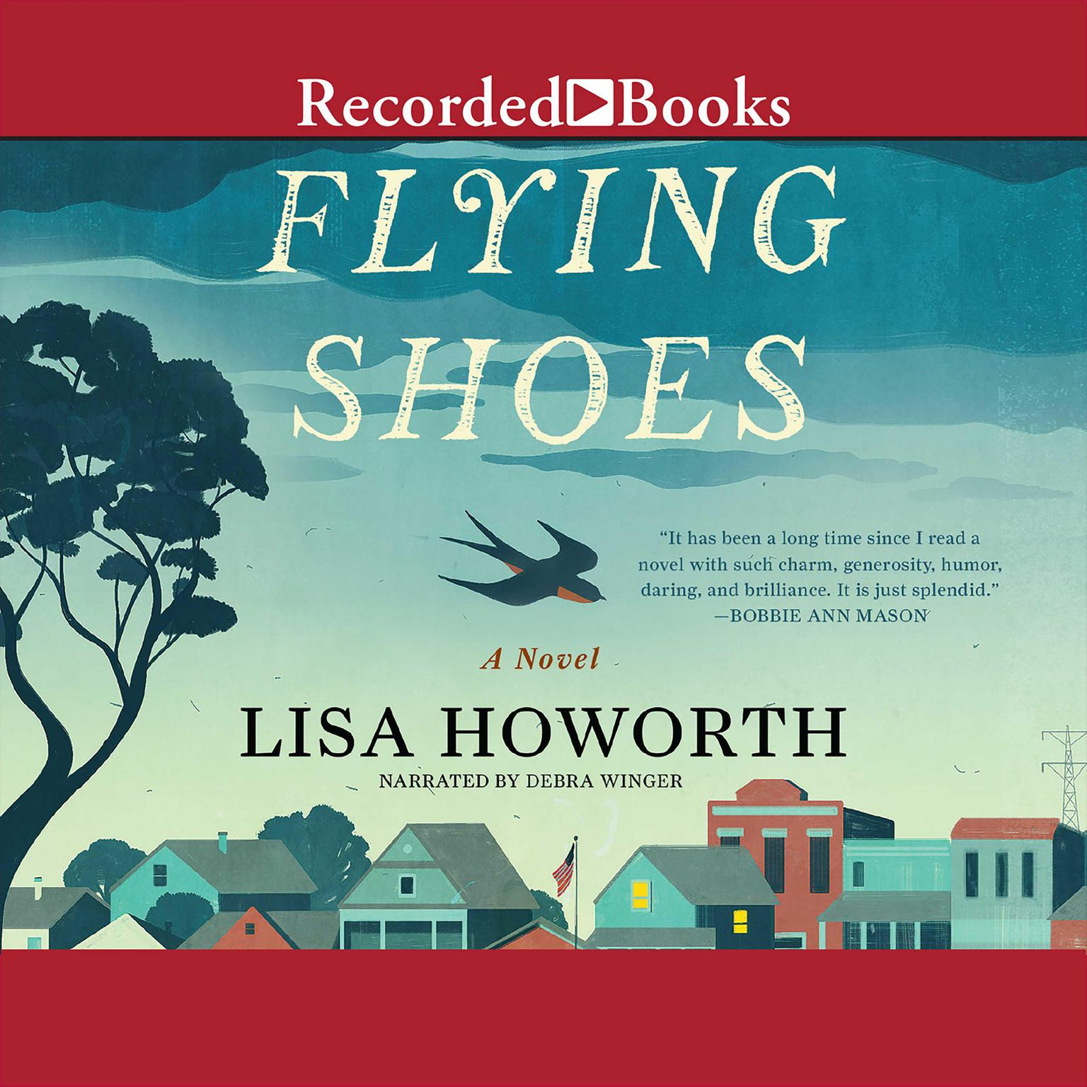 Printable Flying Shoes Audiobook Cover Art