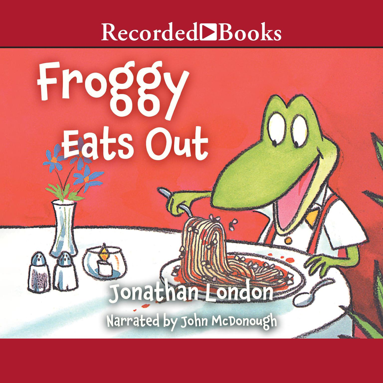 Printable Froggy Eats Out Audiobook Cover Art