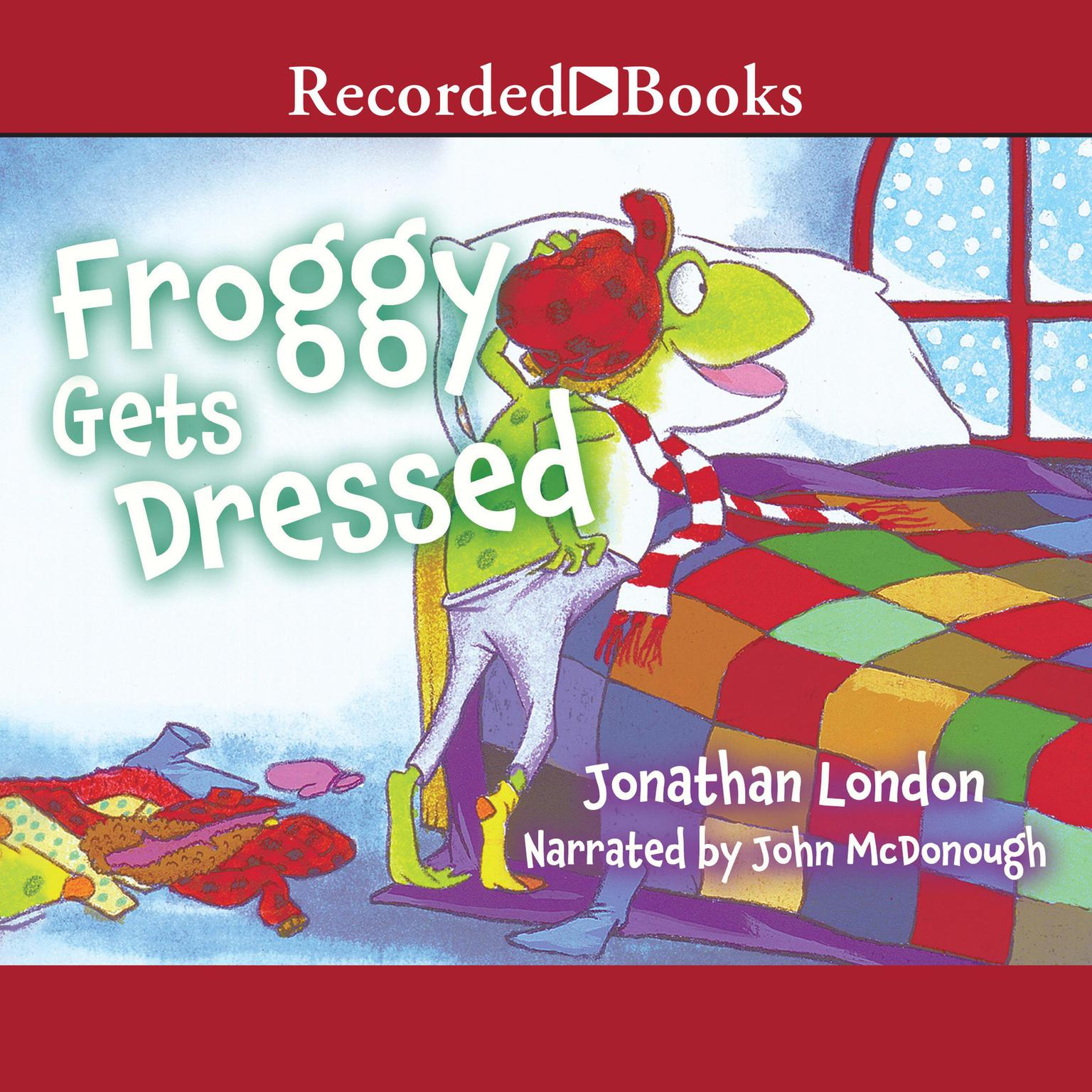 Printable Froggy Gets Dressed Audiobook Cover Art