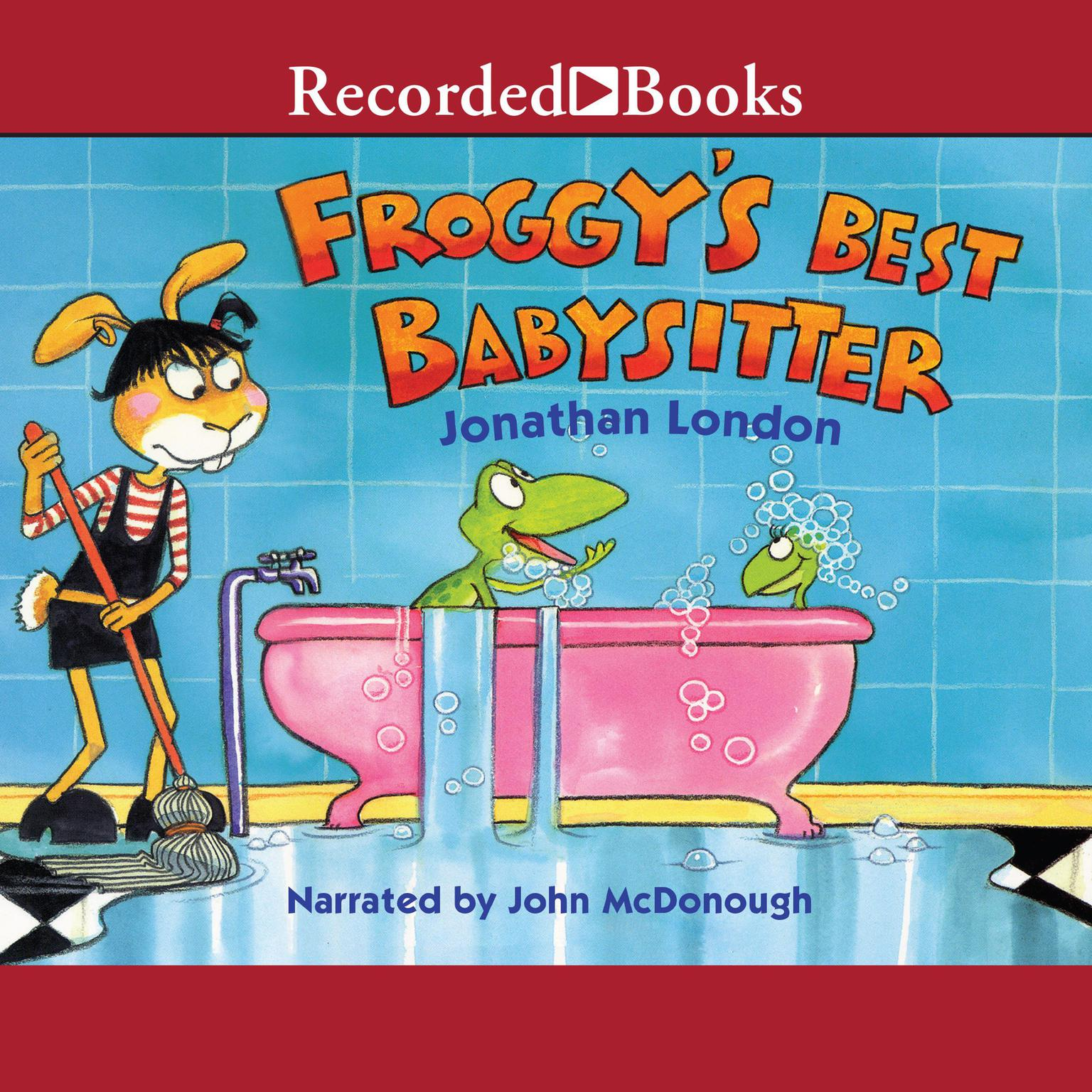 Printable Froggy's Best Babysitter Audiobook Cover Art