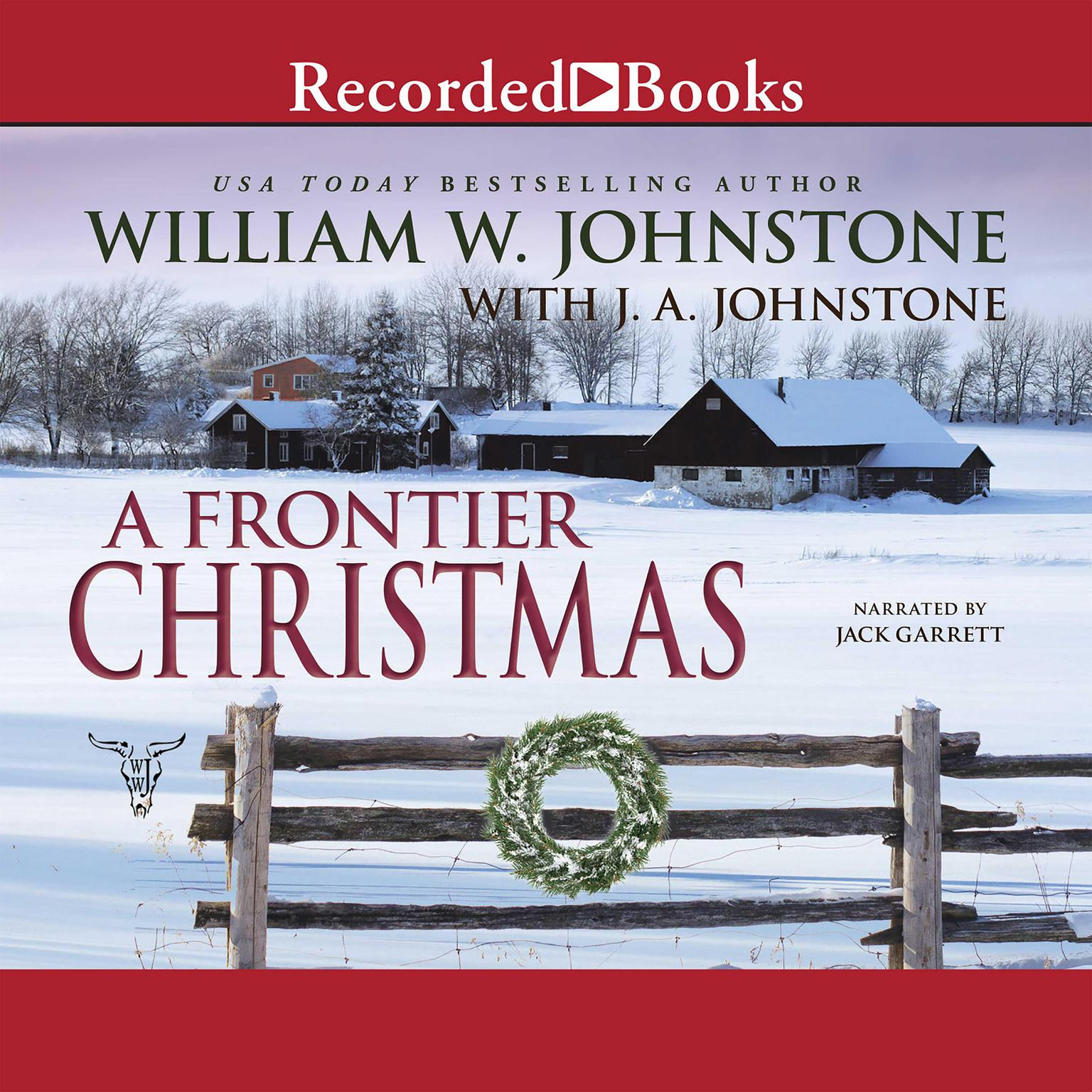 Printable A Frontier Christmas Audiobook Cover Art