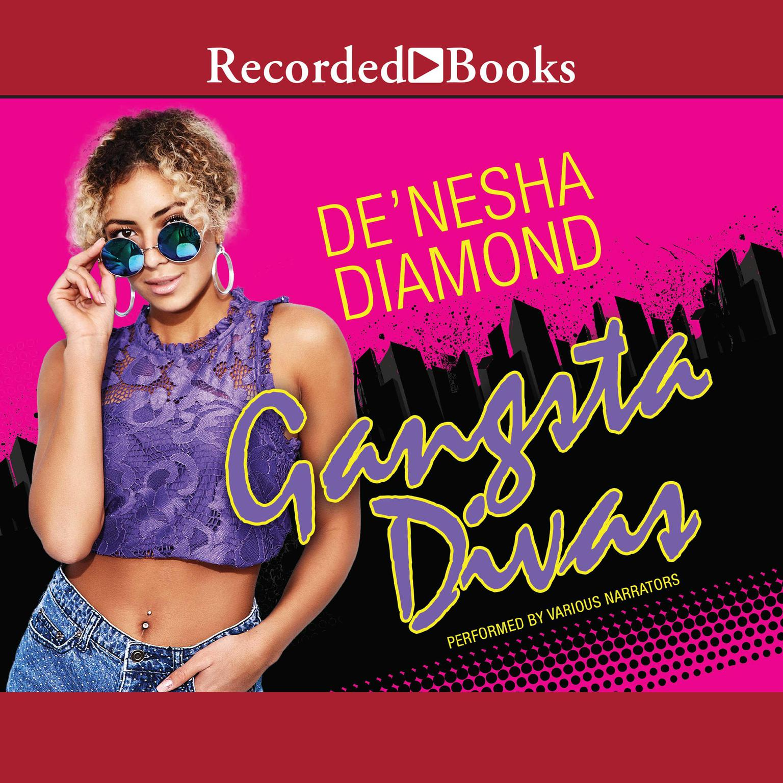 Printable Gangsta Divas Audiobook Cover Art