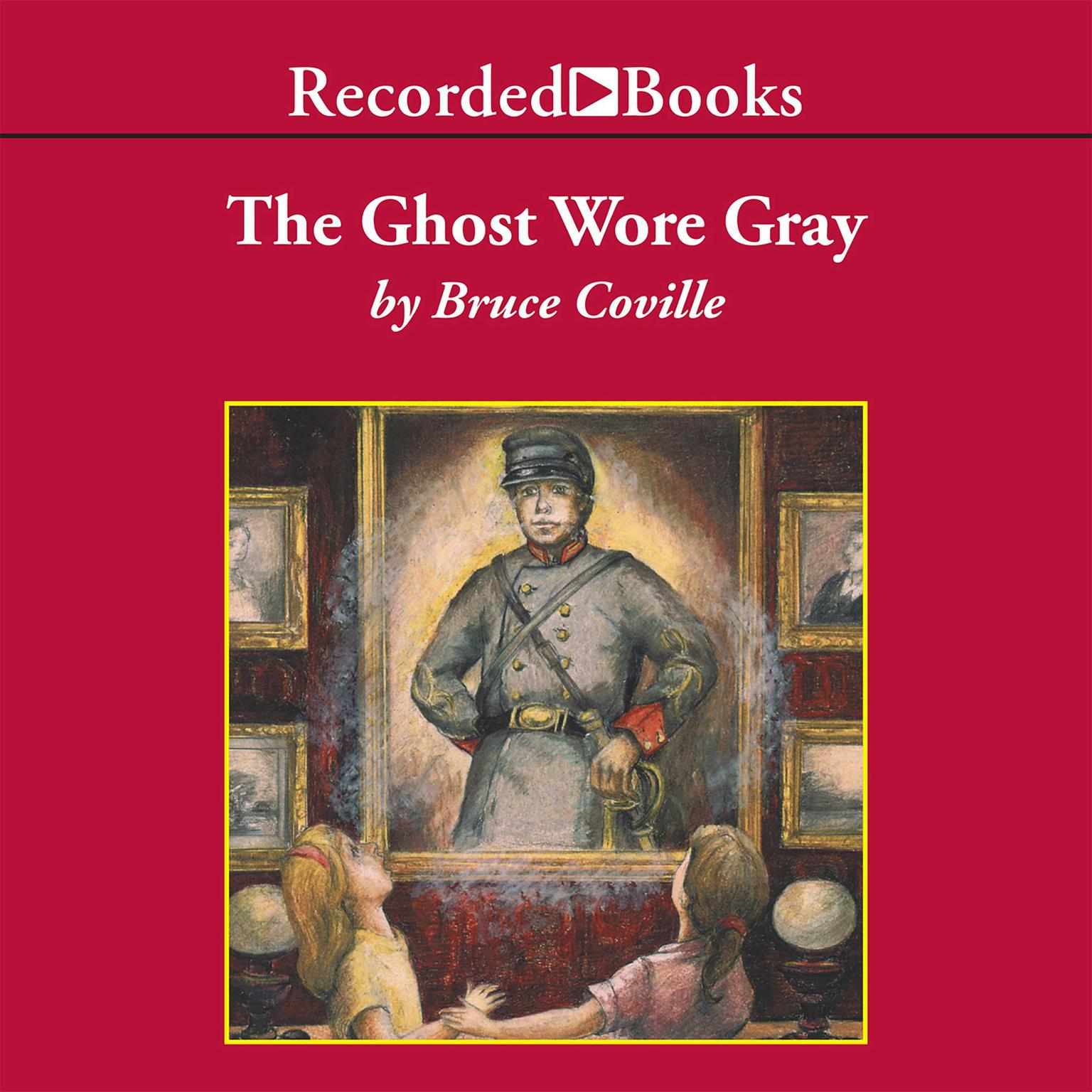 Printable The Ghost Wore Gray Audiobook Cover Art