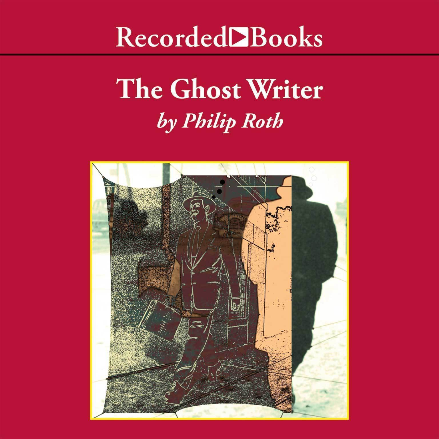 Printable The Ghost Writer Audiobook Cover Art