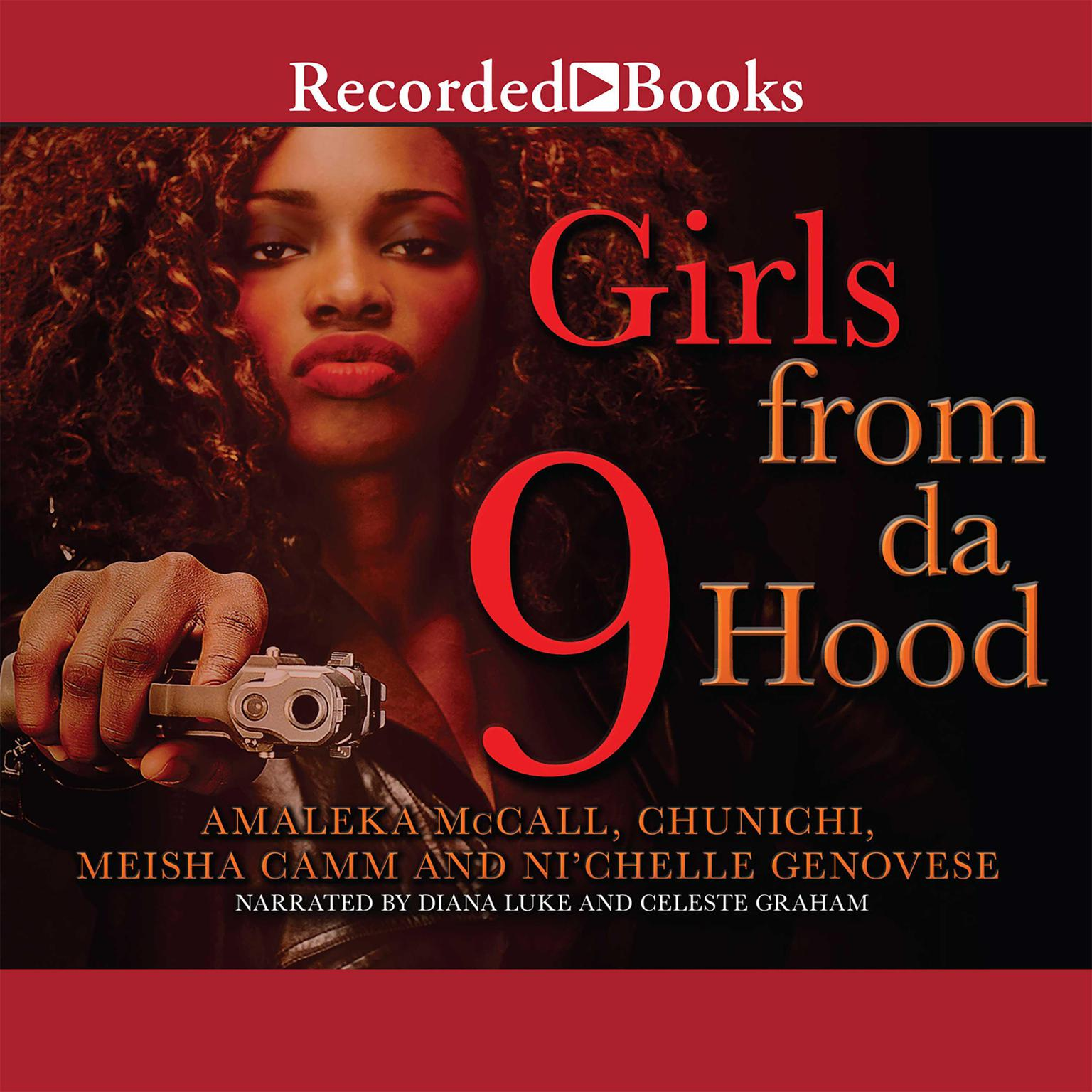 Printable Girls from Da Hood 9 Audiobook Cover Art