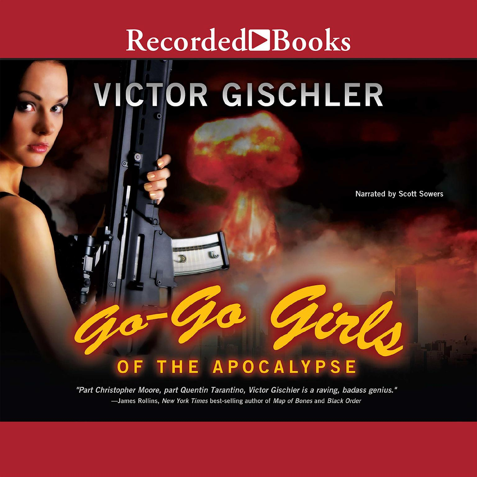 Printable Go-Go Girls of the Apocalypse Audiobook Cover Art