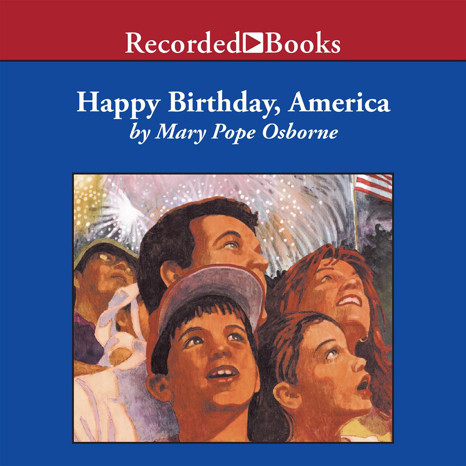 Printable Happy Birthday, America Audiobook Cover Art