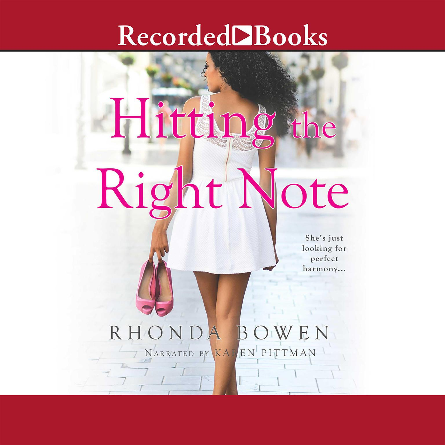 Printable Hitting the Right Note Audiobook Cover Art
